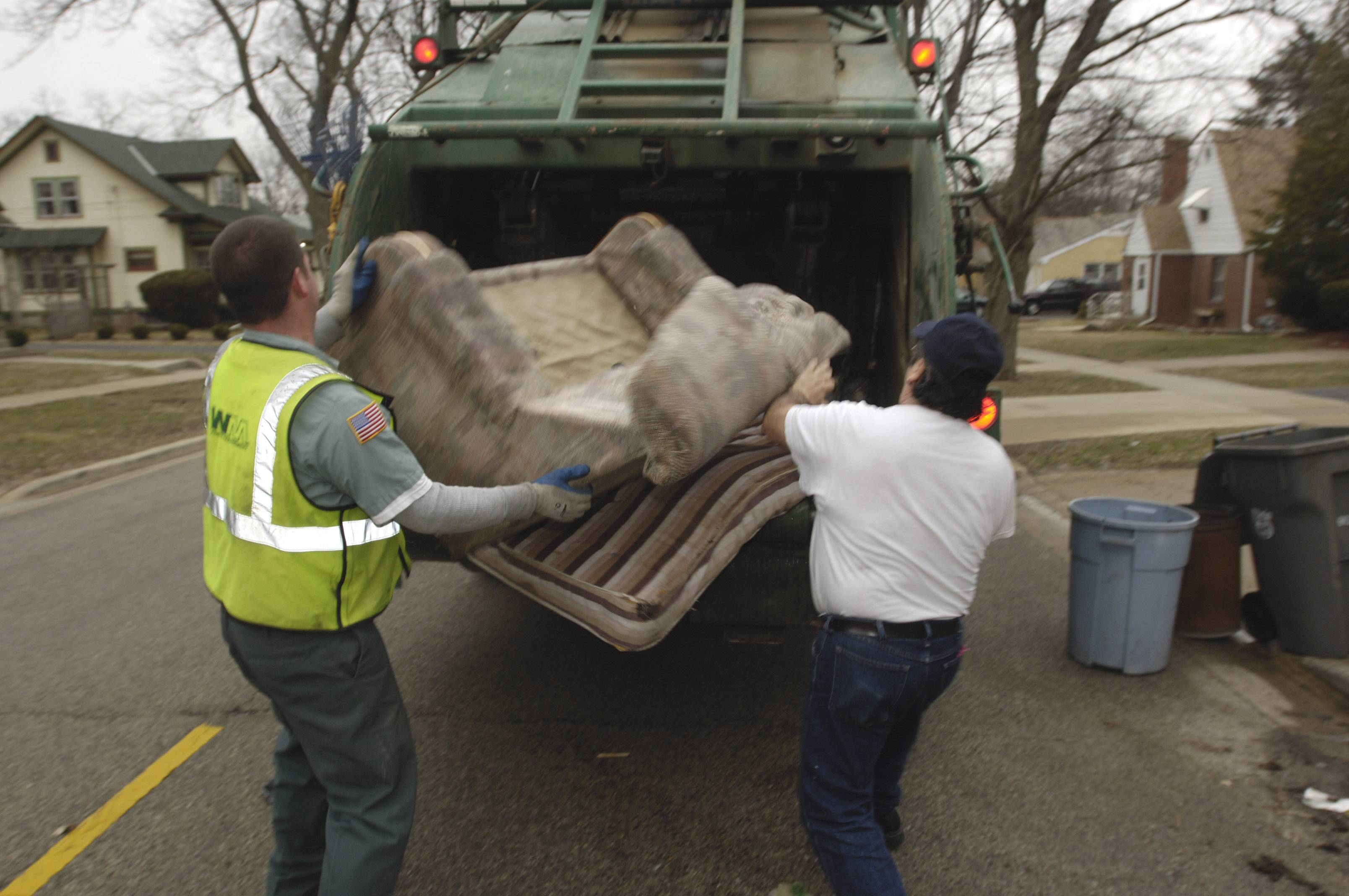 It's time to purge. Algonquin residents can get rid of old furniture and other items cluttering up their homes when the village and Waste Management join forces for a Spring Cleanup -- no stickers required.