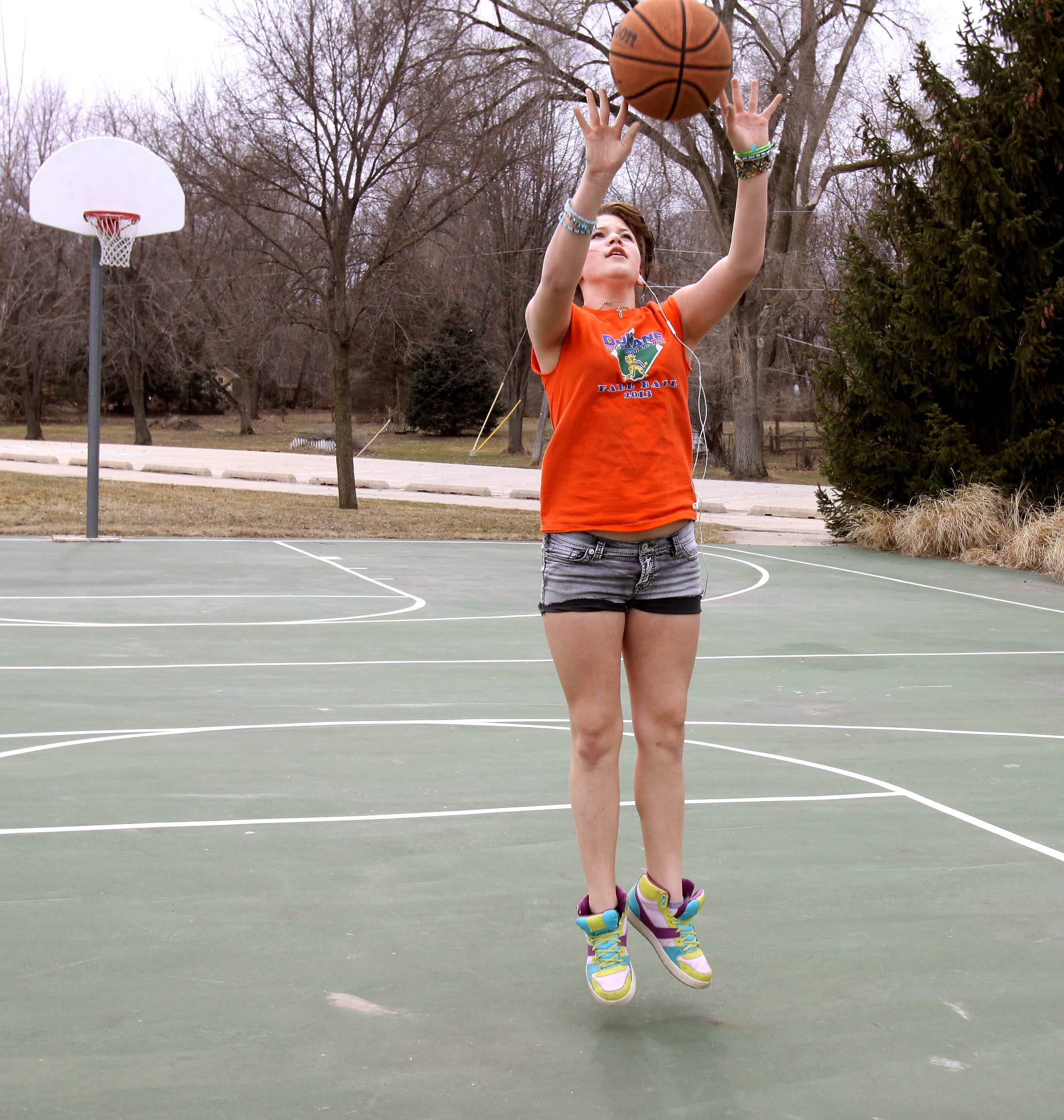 Our crazy weather continues. Monday's warm temperatures meant Skyler Waclaw, 12 of Warrenville, could play a little basketball on Monday at Cerny Park in Warrenville. But the cold returned Tuesday. More rain and cold temperatures are expected this week.