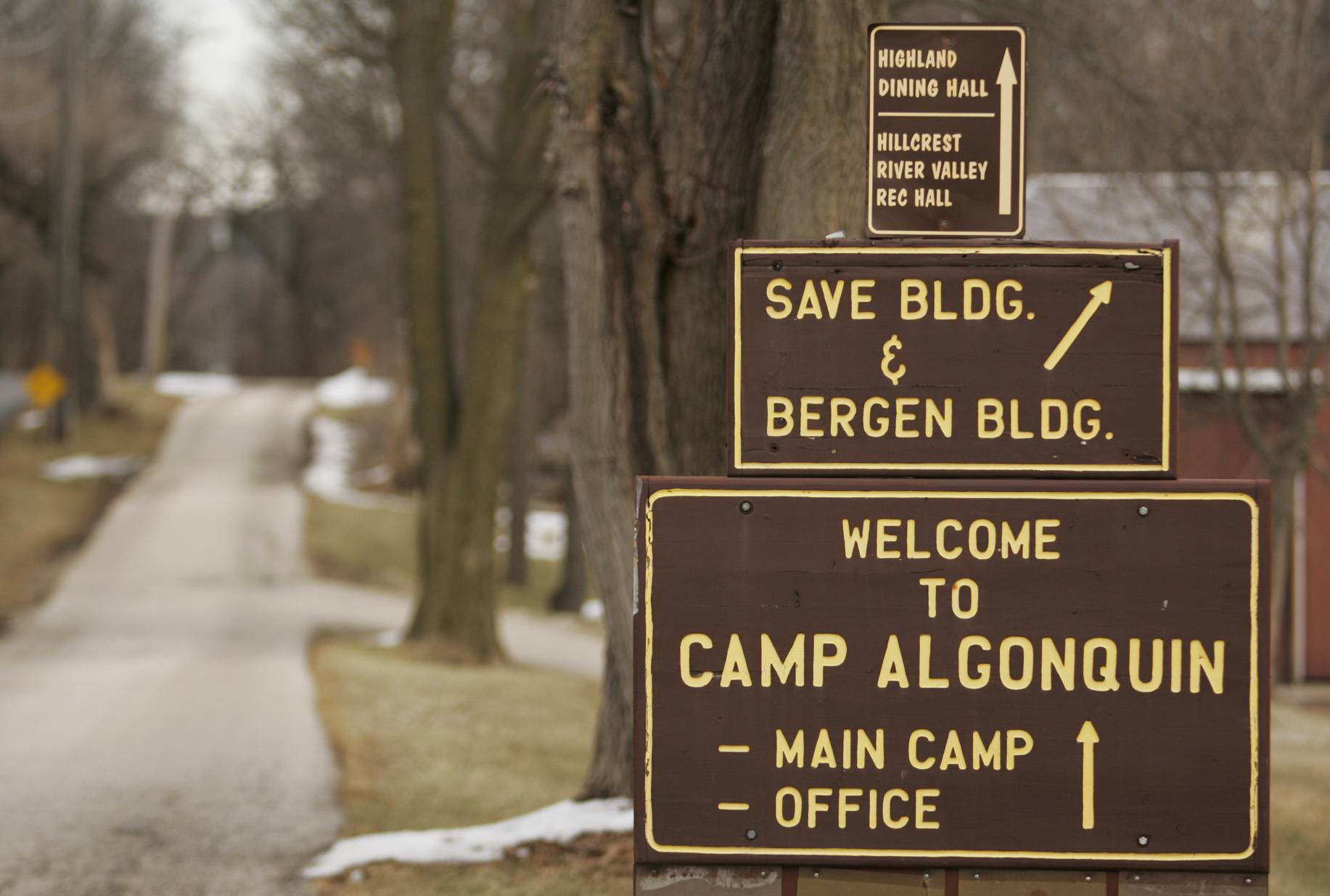 Camp Algonquin in McHenry County made Landmarks Illinois' list of endangered places Tuesday.