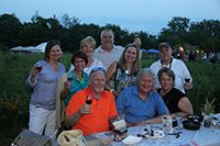Guests taste wines from a variety of wineries at Solstice Hop & Vine Fest, presented by Schaumburg Bank & Trust, a Wintrust Community Bank.Schaumburg Park District