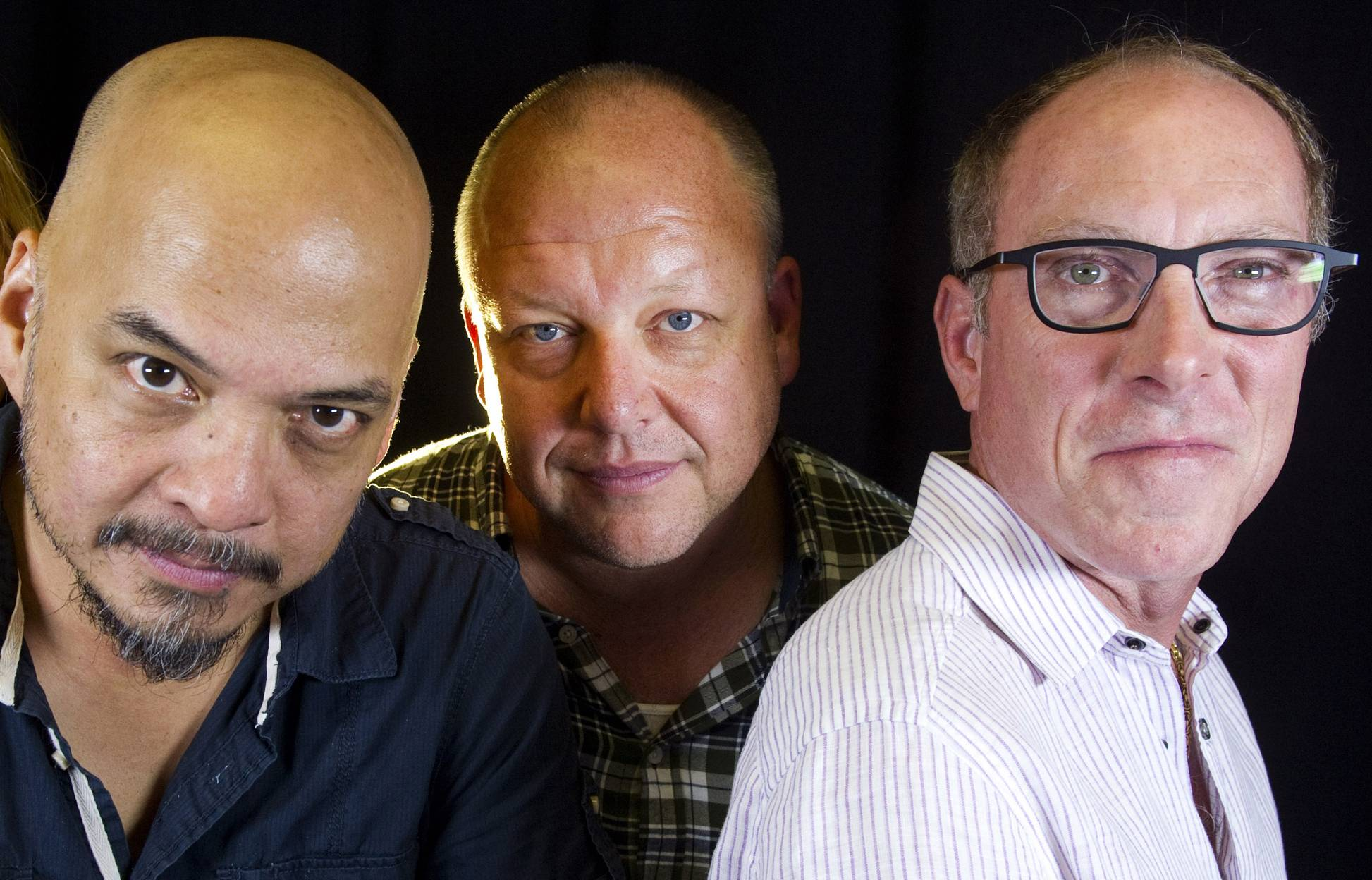 The Pixies -- featuring Joey Santiago, left, Black Francis and David Lovering -- are making new music and planning to tour.