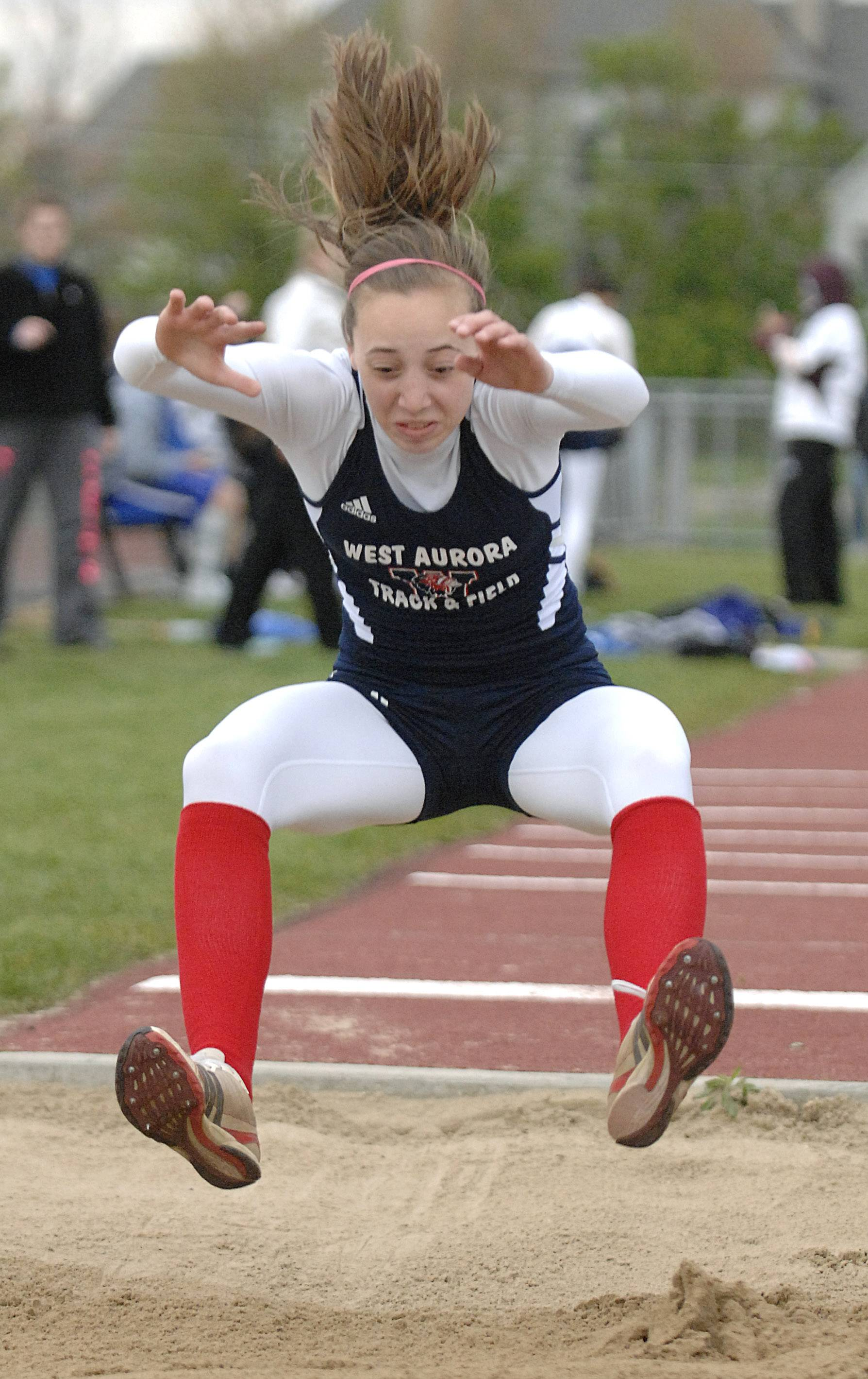 From relays to the jumps to the hurdles, there's nothing West Aurora senior Emma Spagnola can't do -- and she does them as well as anyone in the state.