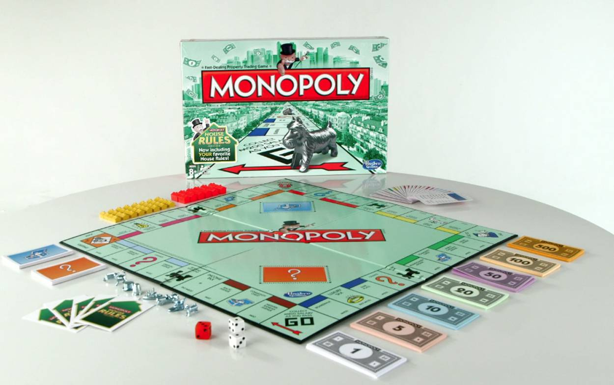"A limited ""house rules"" edition of the popular Monopoly board game."