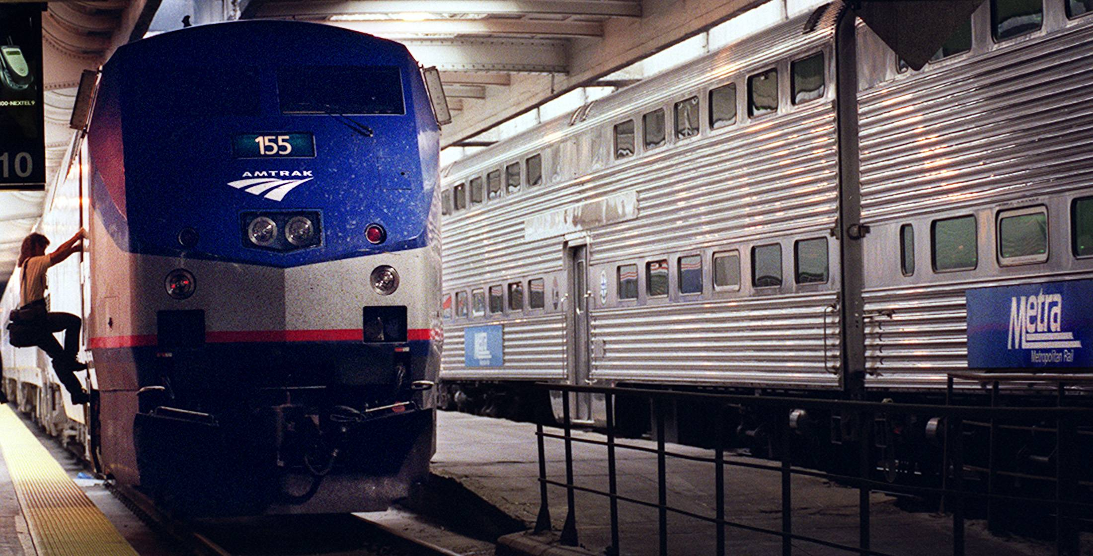 Metra commuter rail officials say about 450 non-union employees received pay increases this month averaging 8 percent.