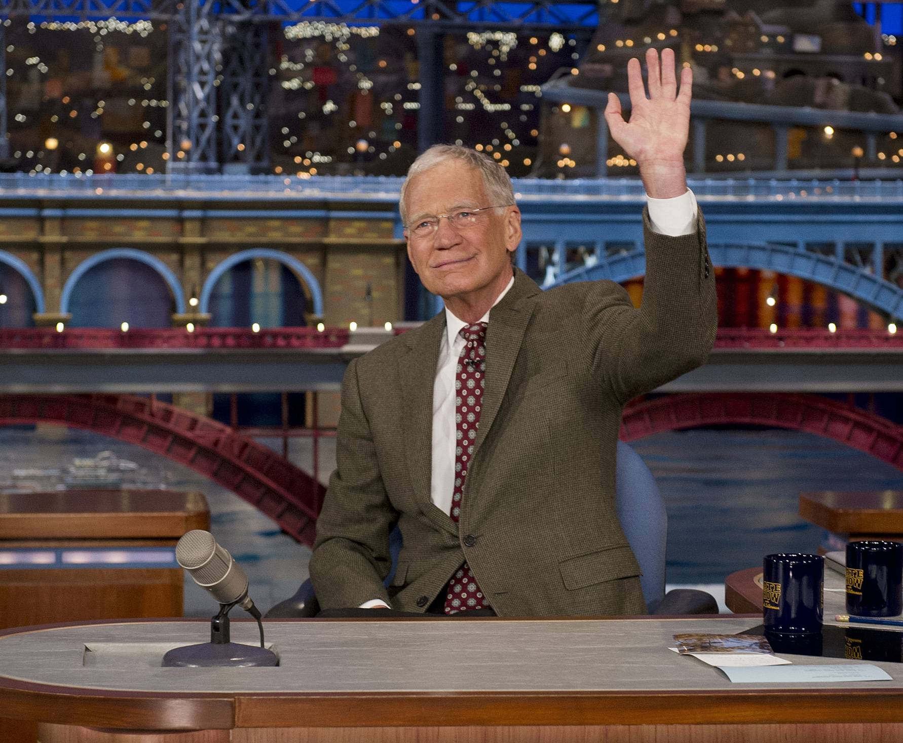 "David Letterman, host of the ""Late Show with David Letterman,"" announced his retirement during Thursday's taping. Although no specific date was announced he told the audience that he will leave his desk sometime in 2015."