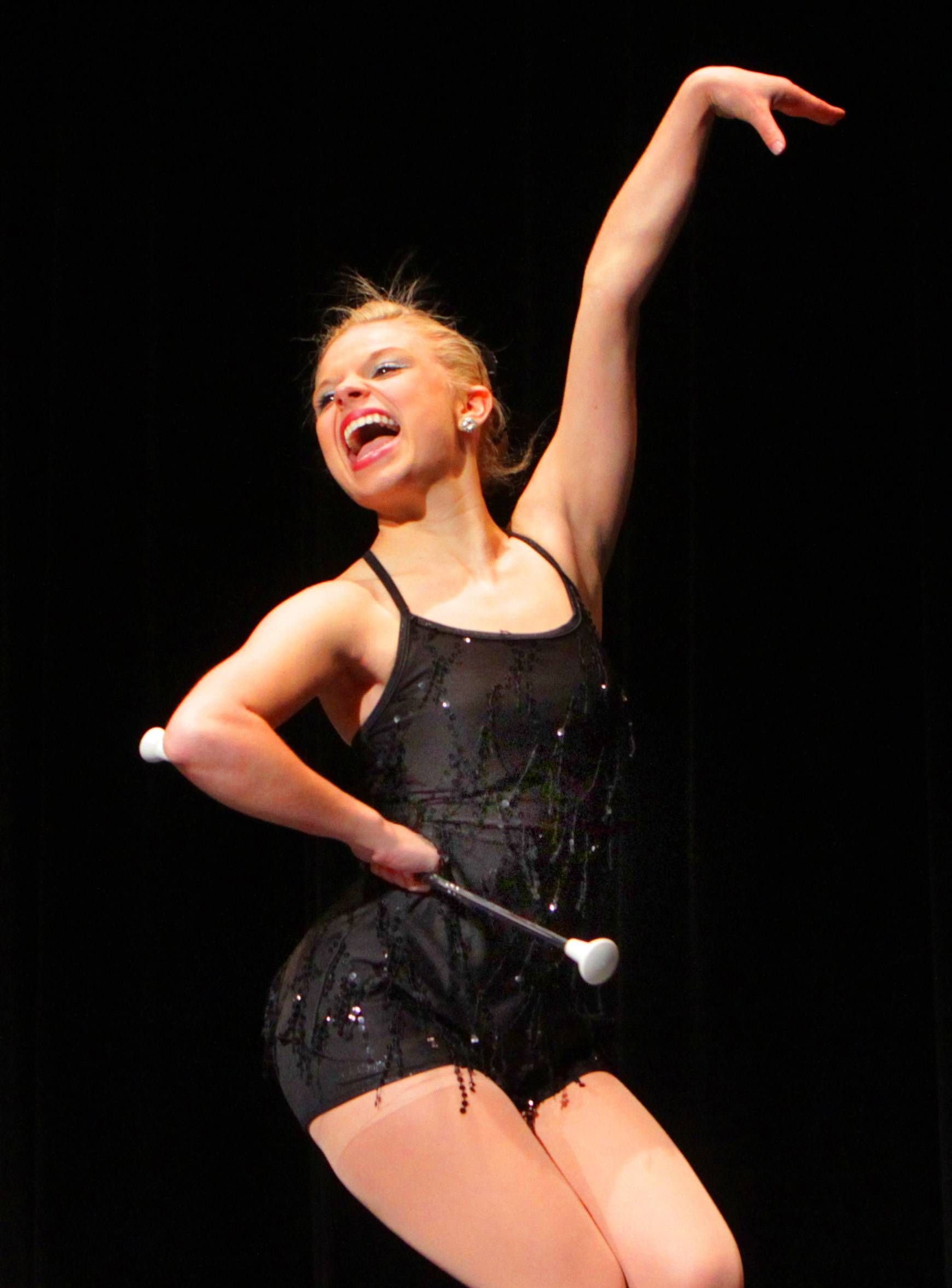 Lauren Bergquist, a senior at Bartlett High School, will be twirling her baton at TalentFest 2014 at the Hemmens. She was one of two acts selected by judges in her school's contest.