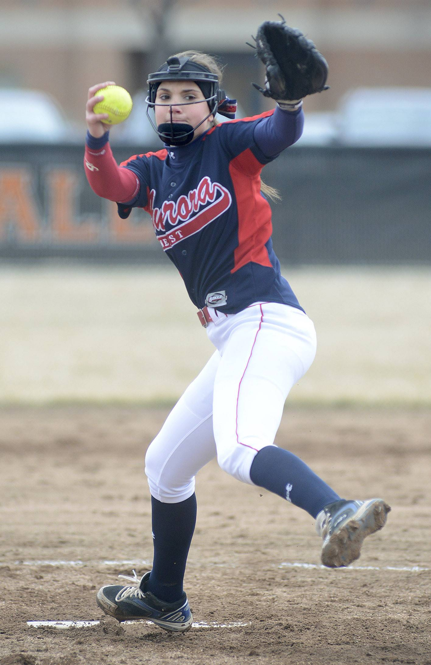 West Aurora's Kaylee Hayton winds up for a pitch in the Blackhawks' 3-2 win over St. Charles East in Game 1 of a doubleheader Friday in St. Charles.