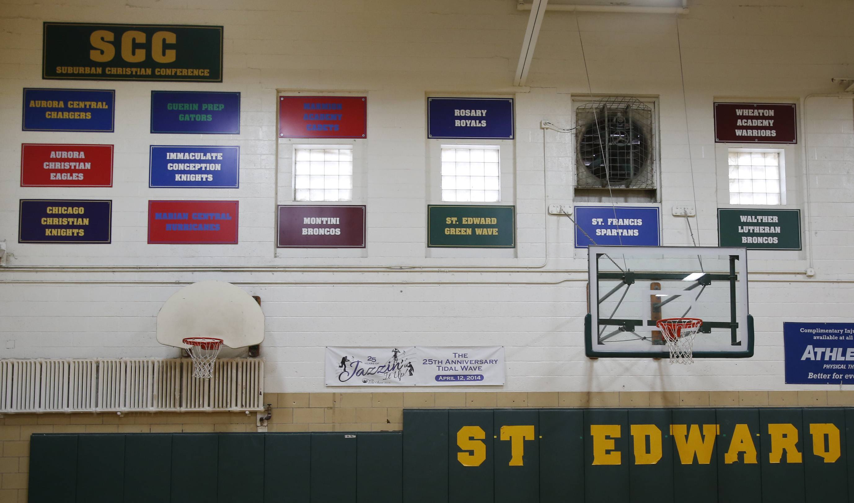 New banners will be needed on the wall at St. Edward High School as the Green Wave prepare to begin competition in the Metro Suburban Conference this fall.