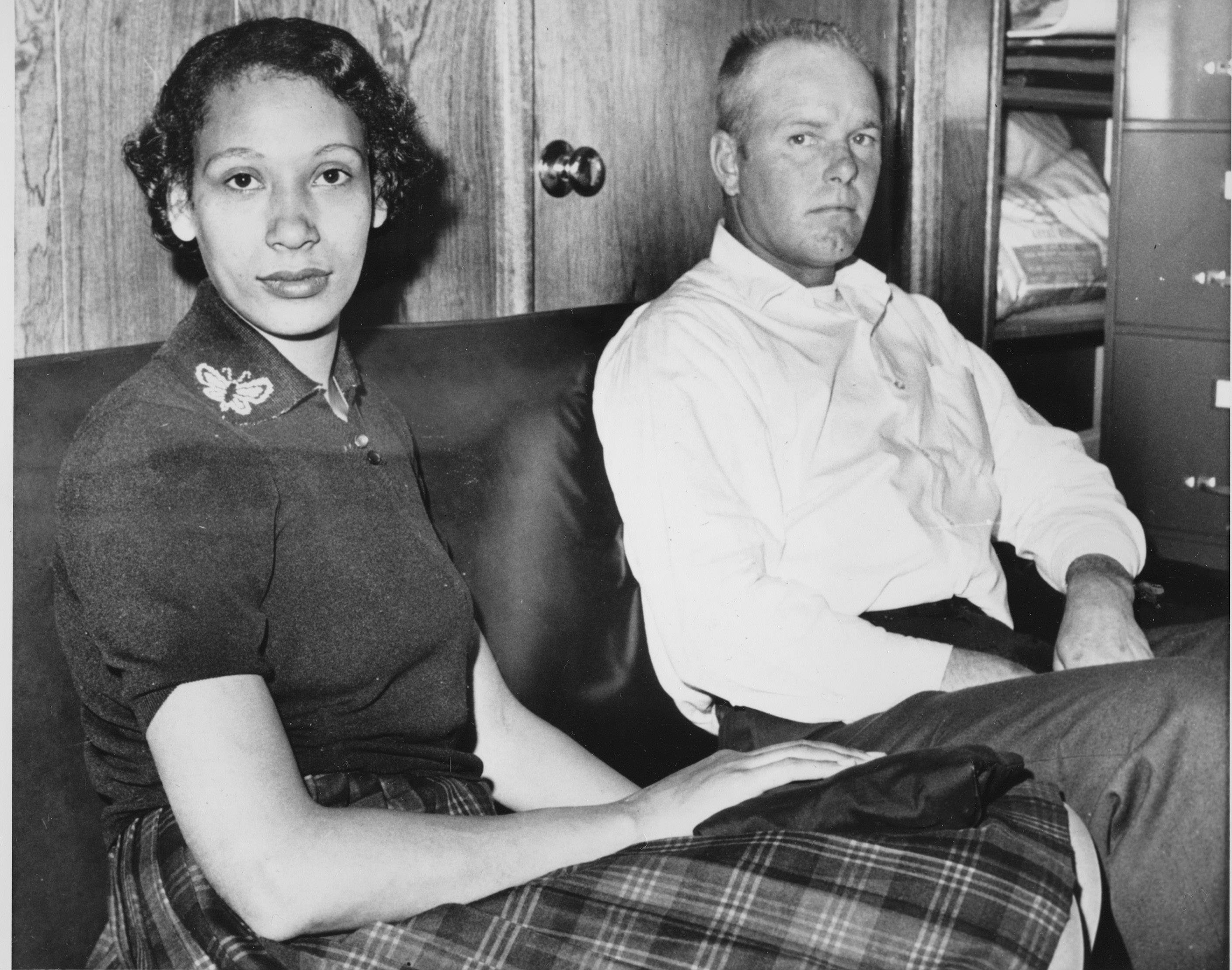 ASSOCIATED PRESS In 1958, Mildred and Richard Loving married in Washington. After they returned to Virginia, police raided their home and arrested them. They avoided jail time by agreeing to leave Virginia — the only home they had known — for 25 years. The couple is seen in this file photo from 1965.