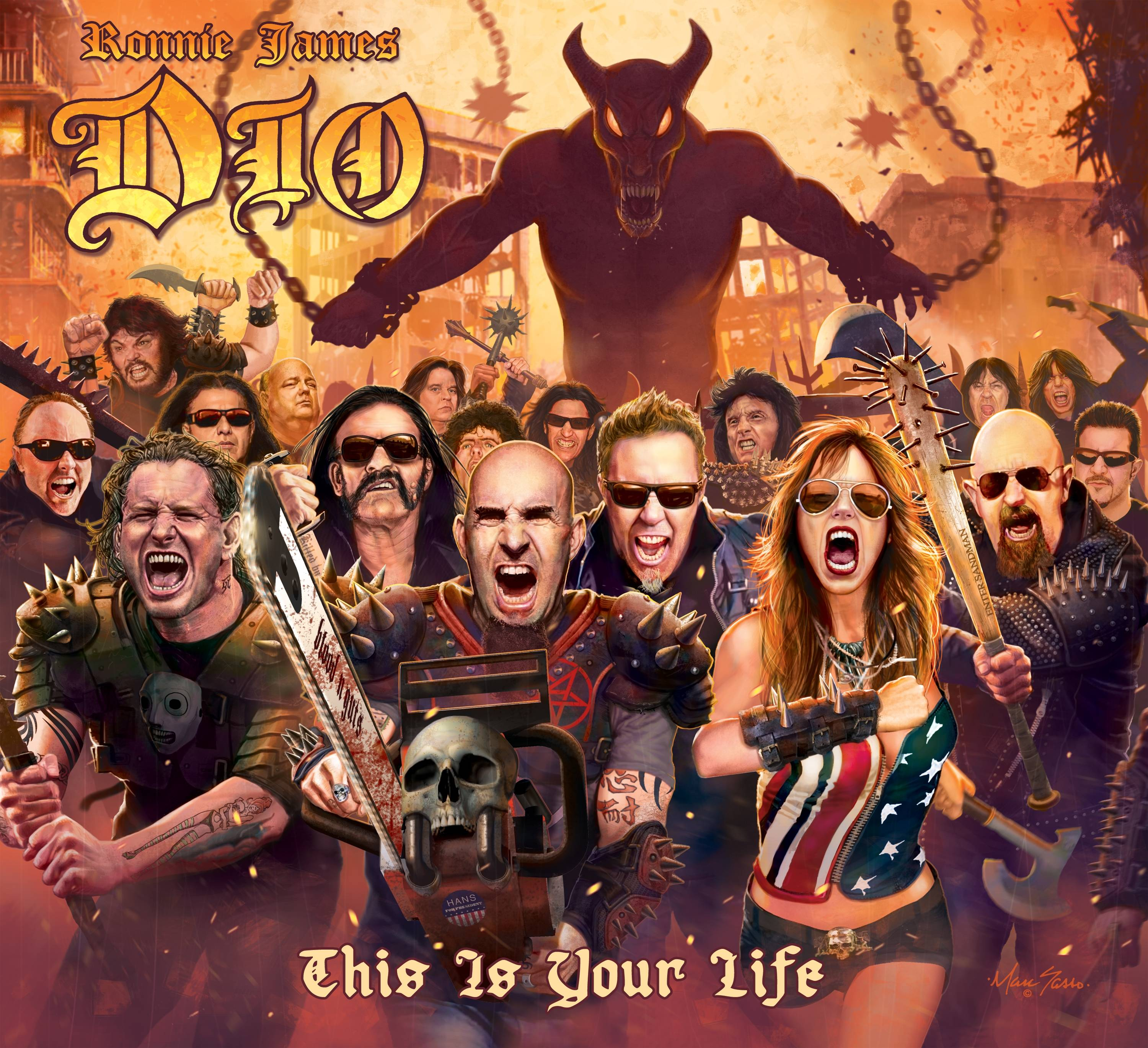 """This Is Your Life,"" by Ronnie James Dio"