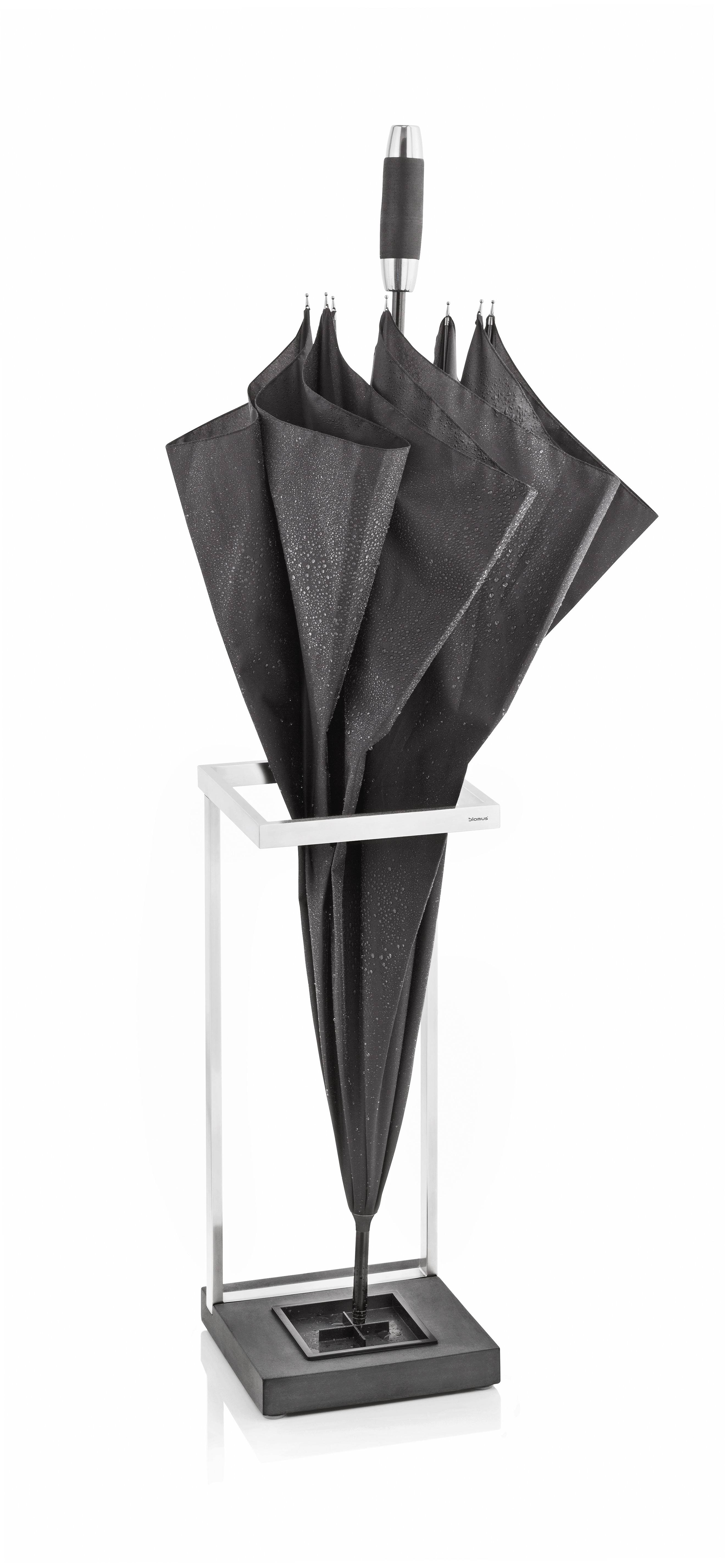 Blomus introduces the sleek Menoto Umbrella Stand.