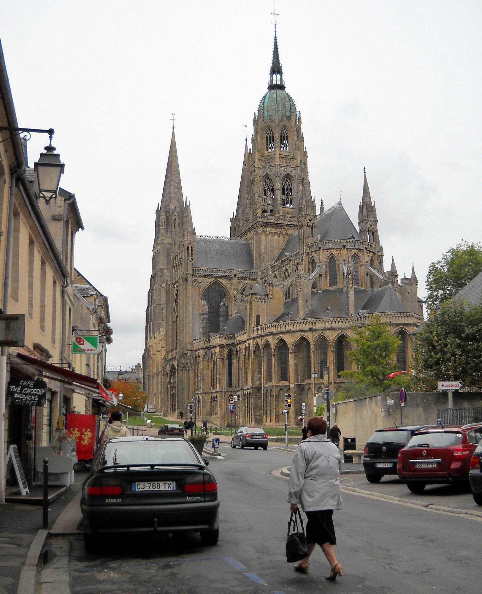 The cathedral in Bayeux, France, was consecrated in 1077 in the presence of William the Conqueror, duke of Normandy and king of England.