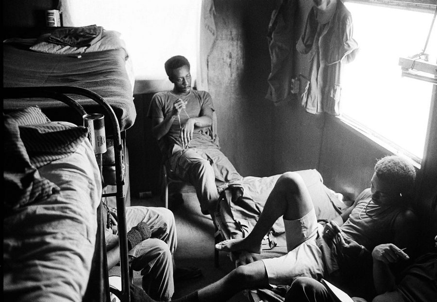 "In this August 1971 file photo, American troops who are addicted to heroin sit together at a U.S. Army amnesty center in Long Binh, Vietnam. Heroin's reputation in the 1970s was ""a really hard-core, dangerous street drug, a killer drug, but there's a whole generation who didn't grow up with that kind of experience with heroin,"" said New York City Special Narcotics Prosecutor Bridget Brennan, whose office was created in 1971 in response to heroin use and related crime. ""It's been glamorized, certainly much more than it was during the '70s."""