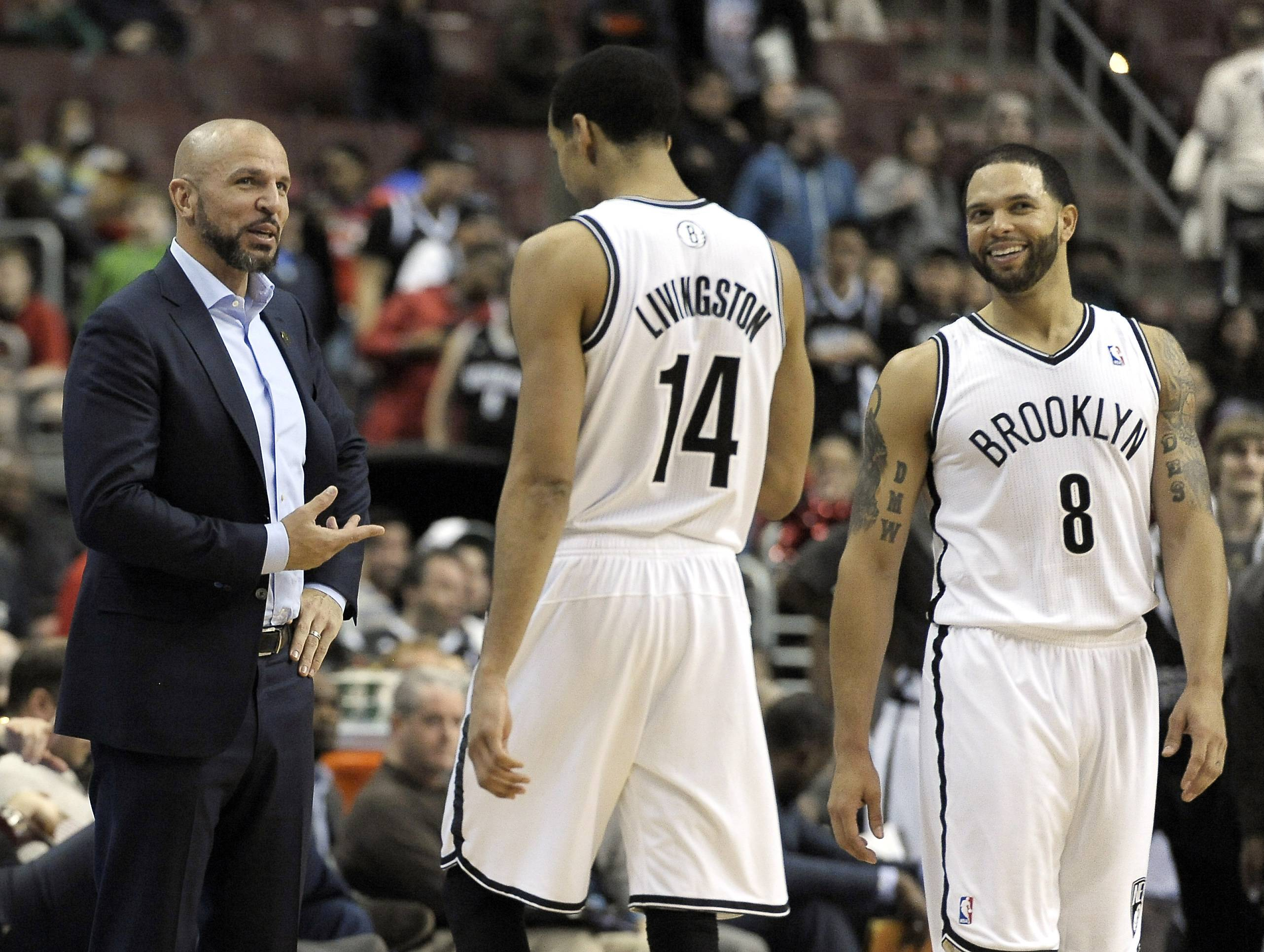 A first-round playoff matchup against the Nets' Shaun Livingston (14) and Deron Williams would be no cakewalk for the Bulls.