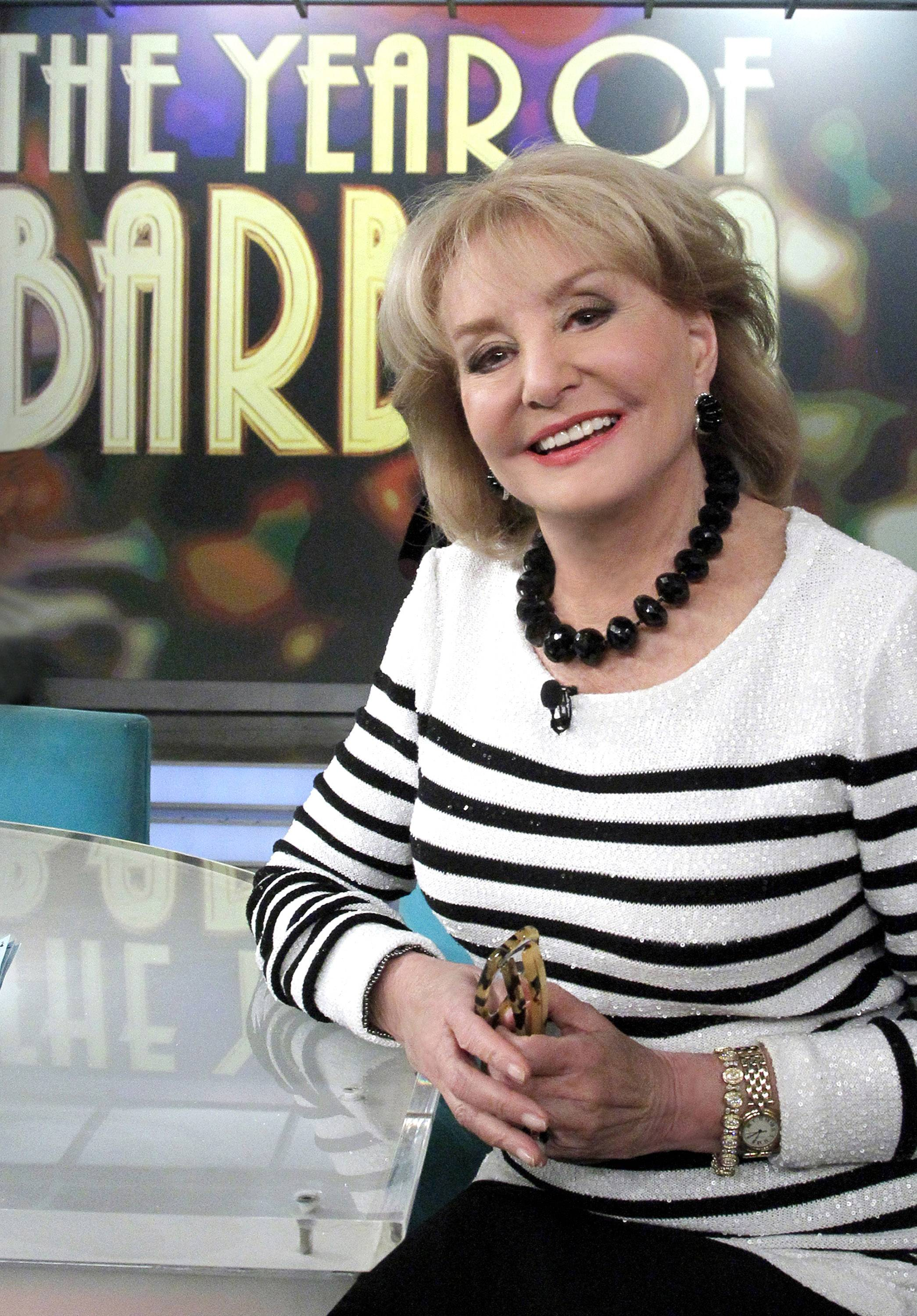 "Barbara Walters plans to make her final appearance on ""The View"" on May 16, part of a daylong retirement celebration that will include ABC News naming its New York headquarters after her."