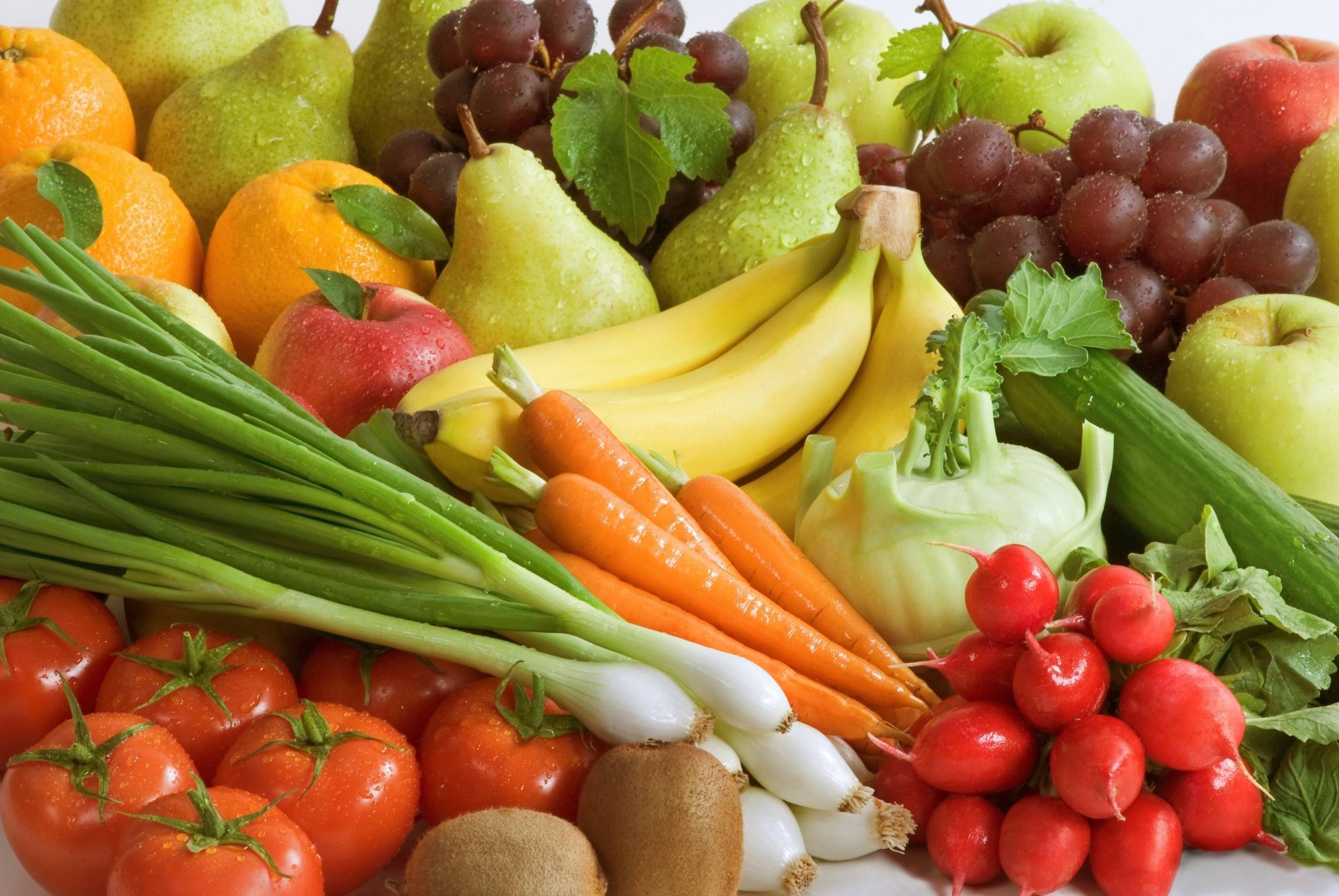 A new study suggests people who eat up to seven servings of fruit and vegetables a day can cut their risk of death by 42 percent.