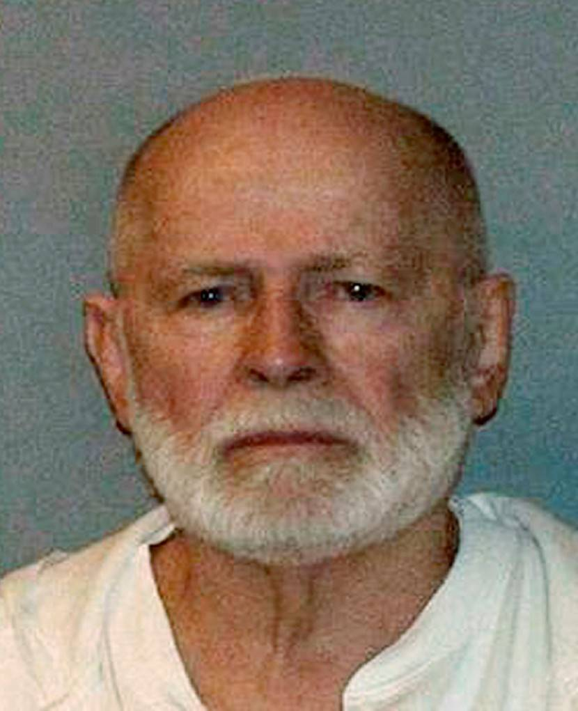 This booking photograph, obtained by WBUR 90.9 -- NPR Radio Boston, shows Boston mob boss James 'Whitey' Bulger. Bulger, the FBI's most-wanted man and a feared underworld figure linked to 19 murder, was captured Wednesday in Santa Monica, California after one of the biggest manhunts in U.S. history.