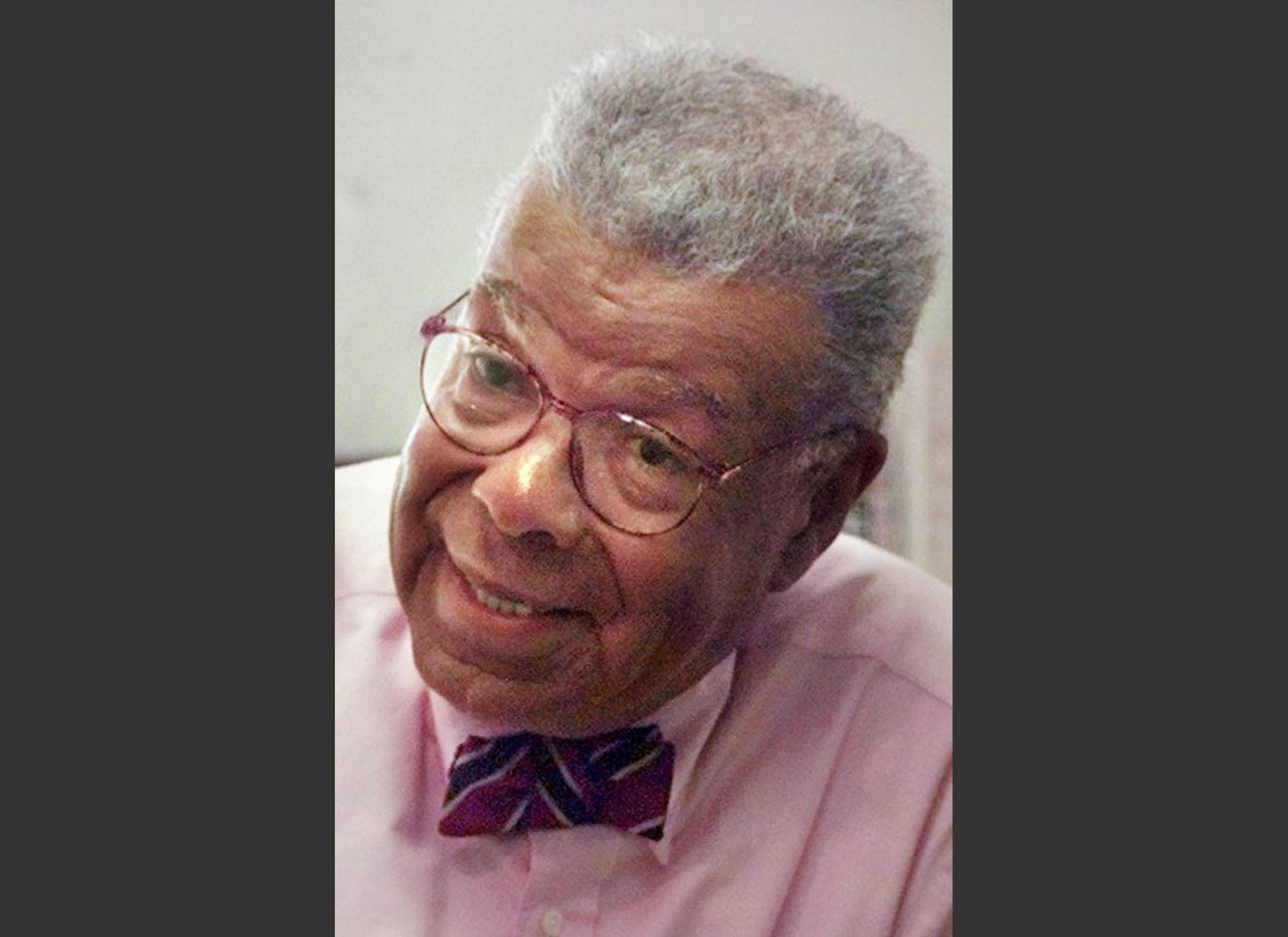 "In this Aug. 5, 1998, file photo, University of North Carolina journalism professor Chuck Stone speaks, in Chapel Hill, N.C. Longtime journalist and educator Charles Sumner ""Chuck"" Stone Jr., one of the founders of the National Association of Black Journalists, has died. He was 89."