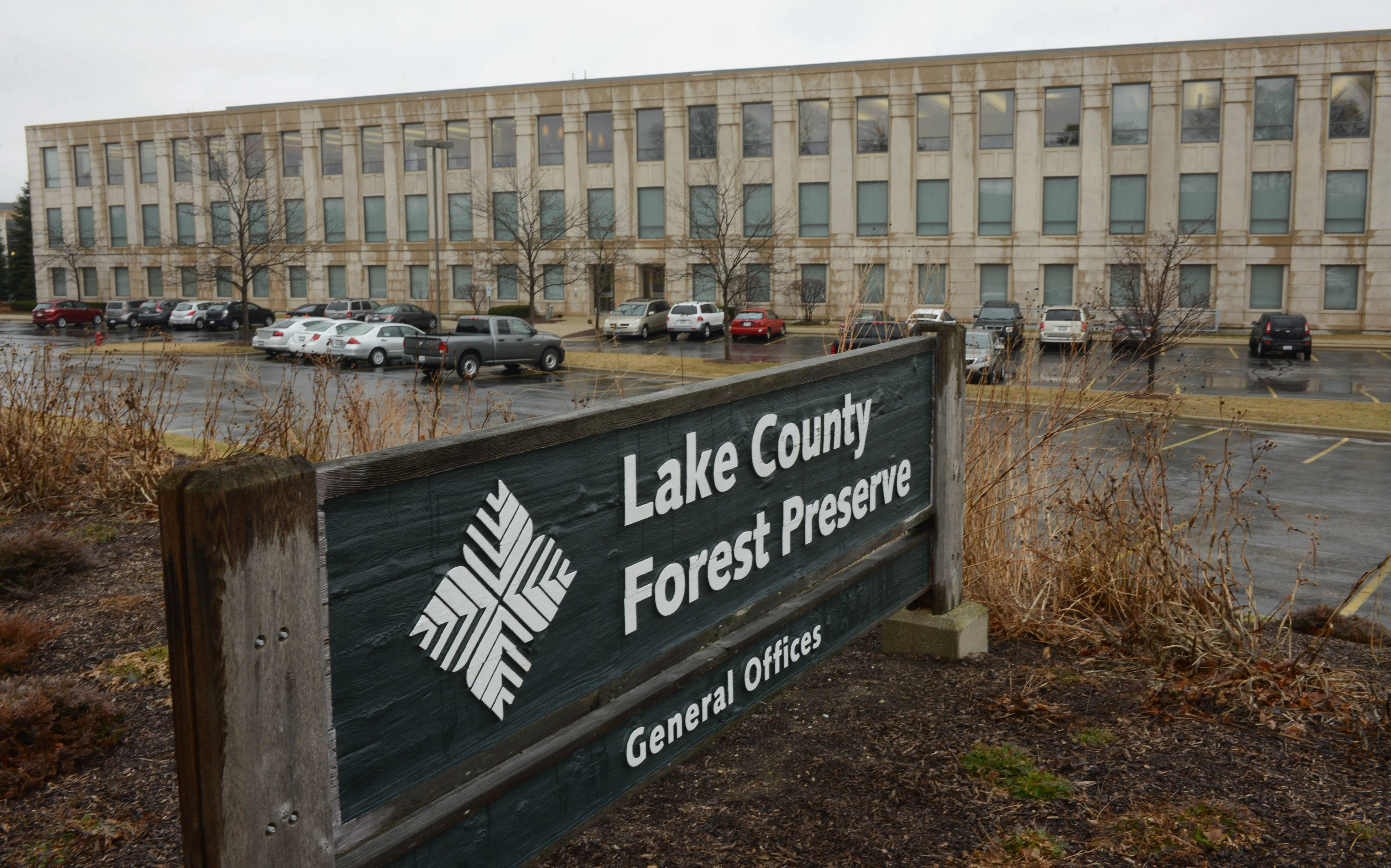 The Lake County Forest Preserve's general offices in Libertyville.