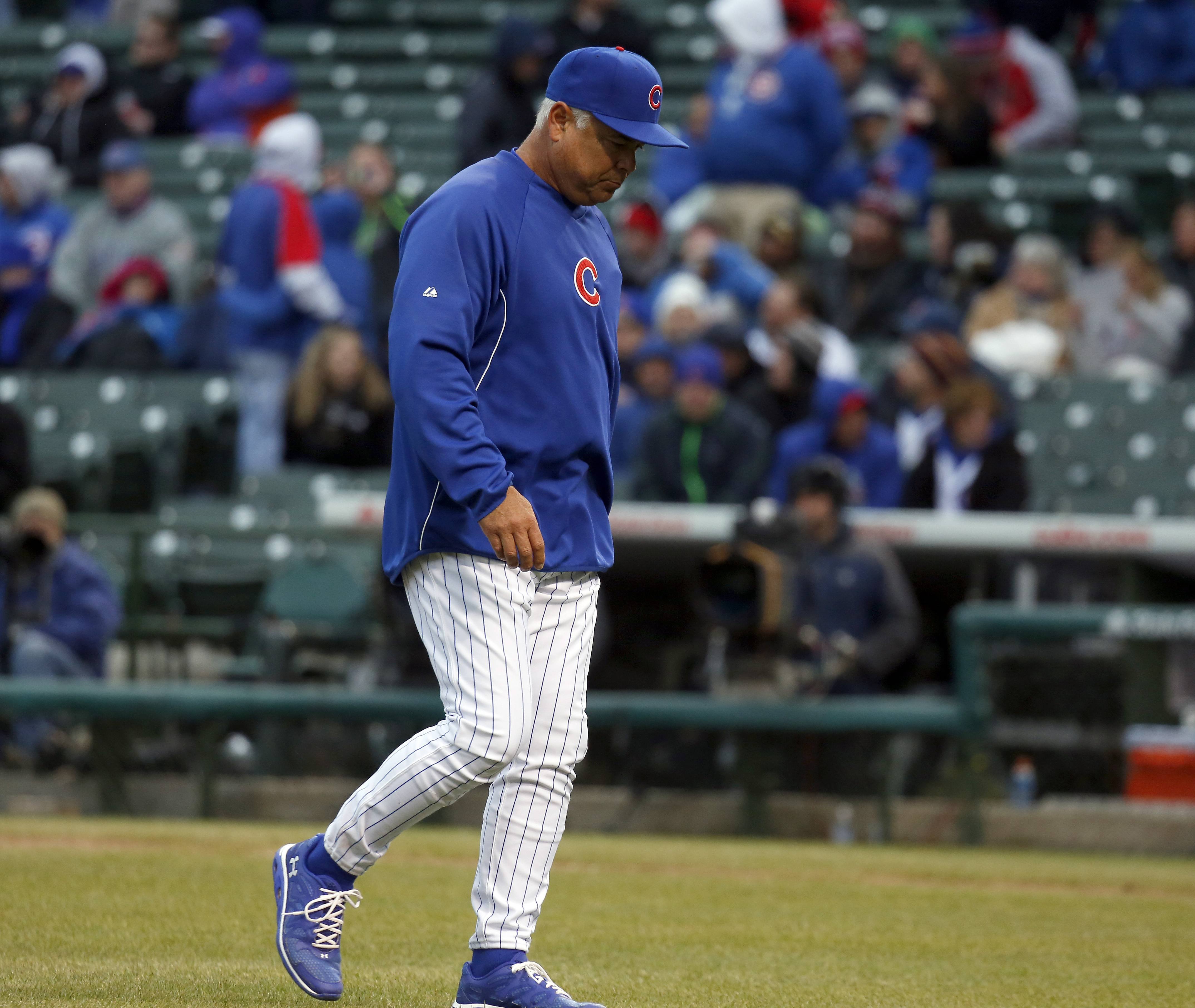 With instant replay in place, don't expect MLB managers like the Cubs' Rick Renteria to come kicking and screaming out of the dugout to protest a call. Now they need to find ways to stall while they wait to determine if the call warrants a challenge.