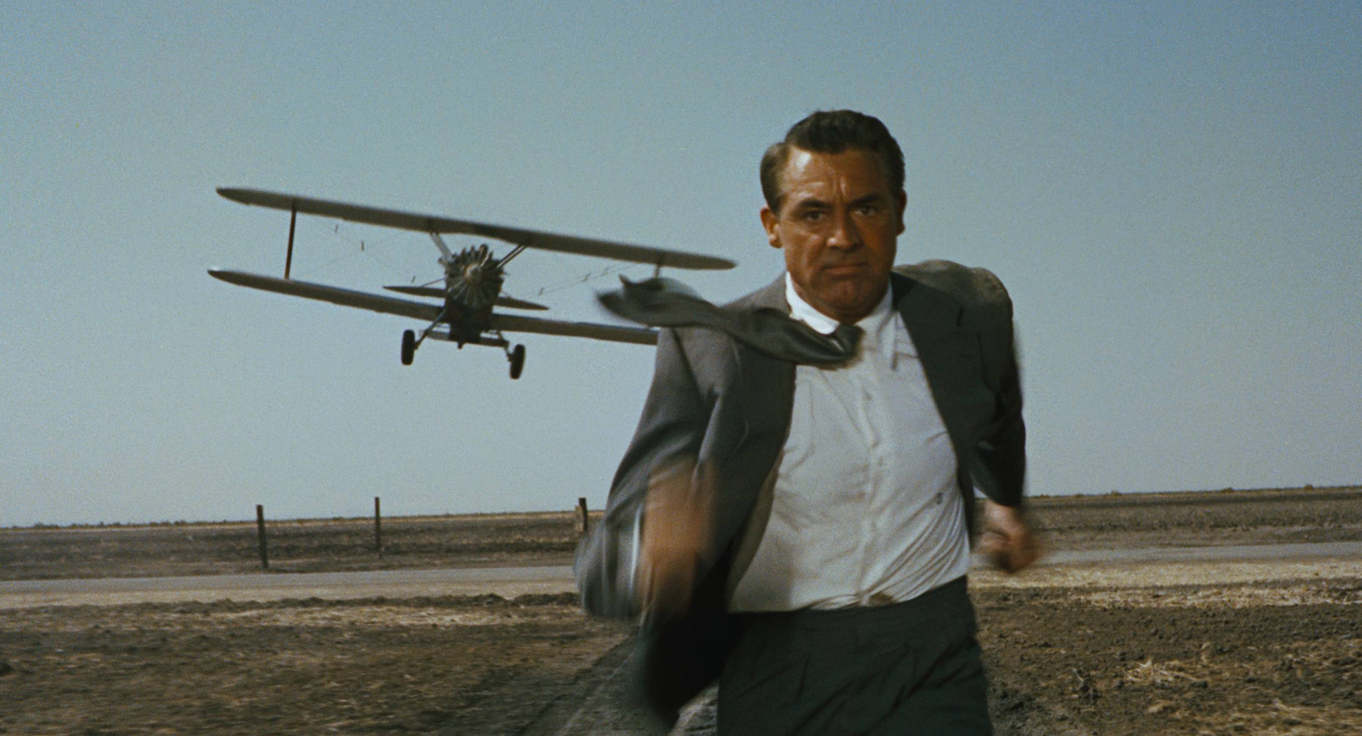 Cary Grant stars in the 1959 Alfred Hitchcock classic, 'North by Northwest'. Photo courtesy of MGM.