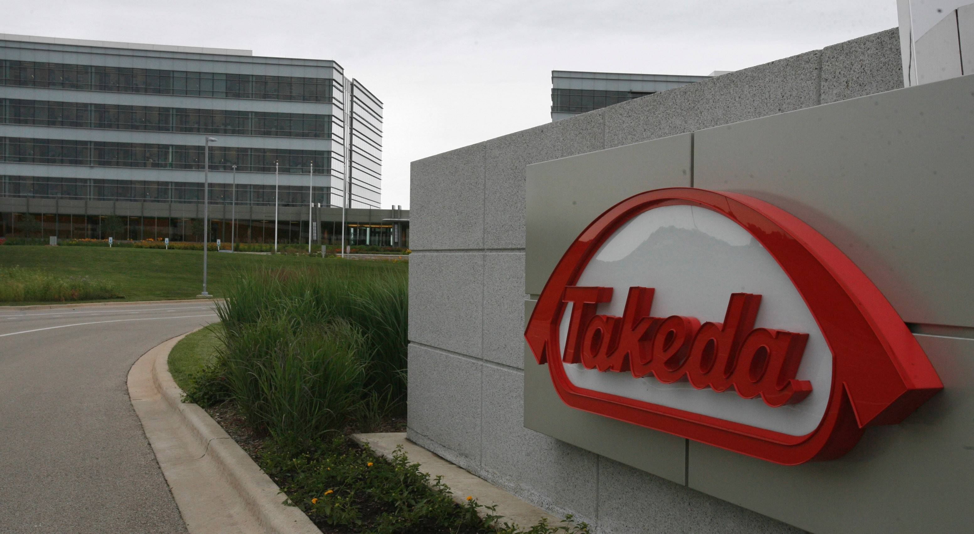 Takeda's Deerfield headquarters.