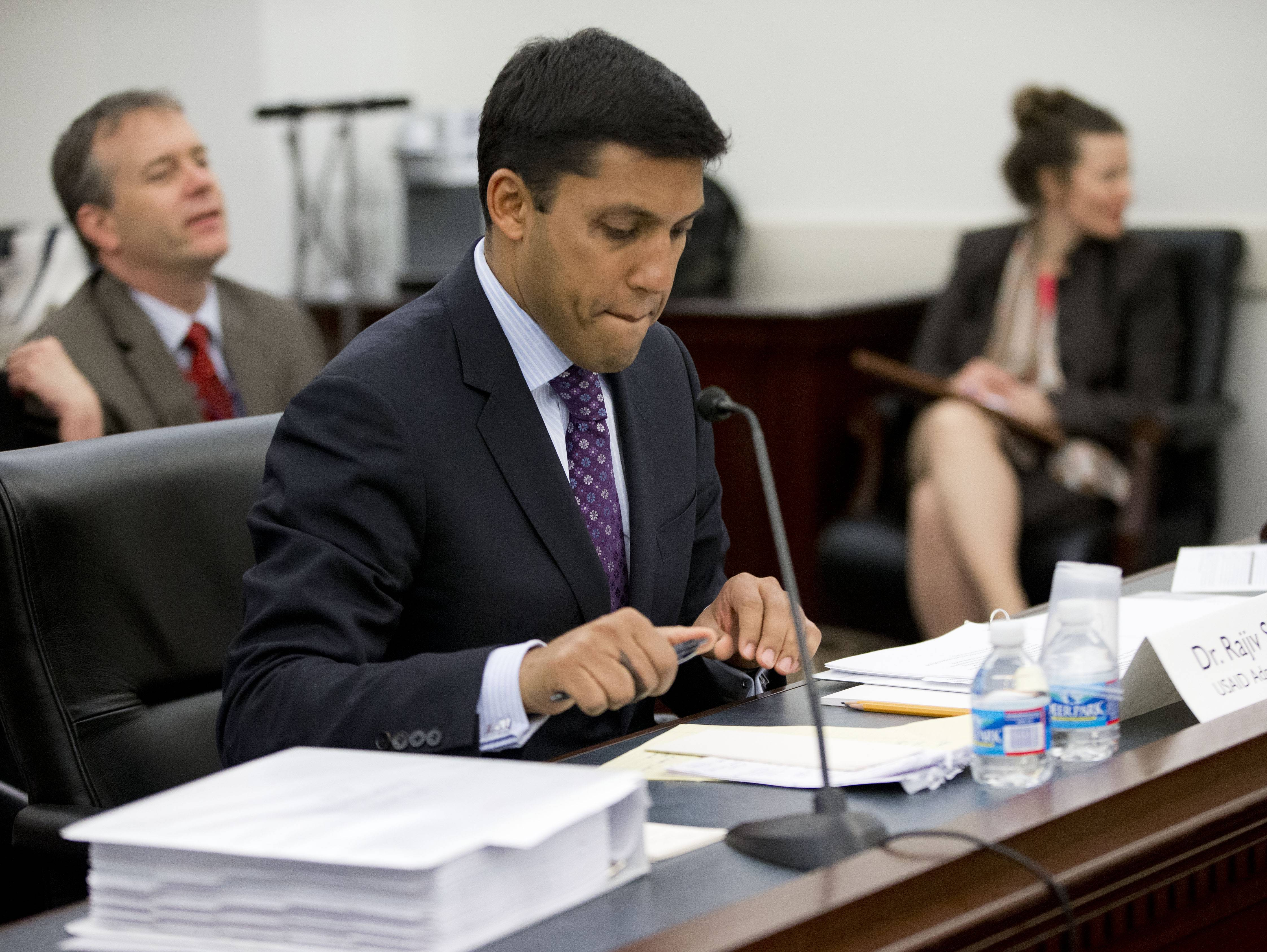"U.S. Agency for International Development (USAID) Administrator Dr. Rajiv Shah, testifying Tuesday before a House subcommittee, was questioned on the agency's secret ""Cuban Twitter,"" a social media network built to stir unrest in the communist island."