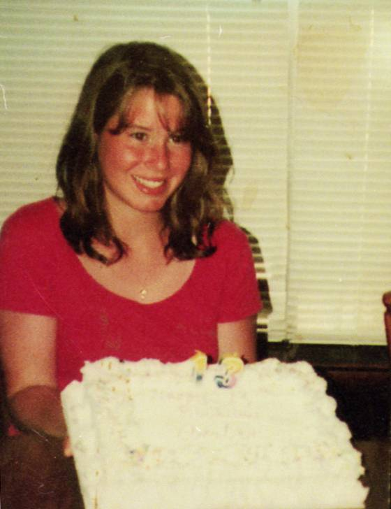 An arrest has been made in the 1997 murder of Amber Creek, shown here on her 13th birthday.