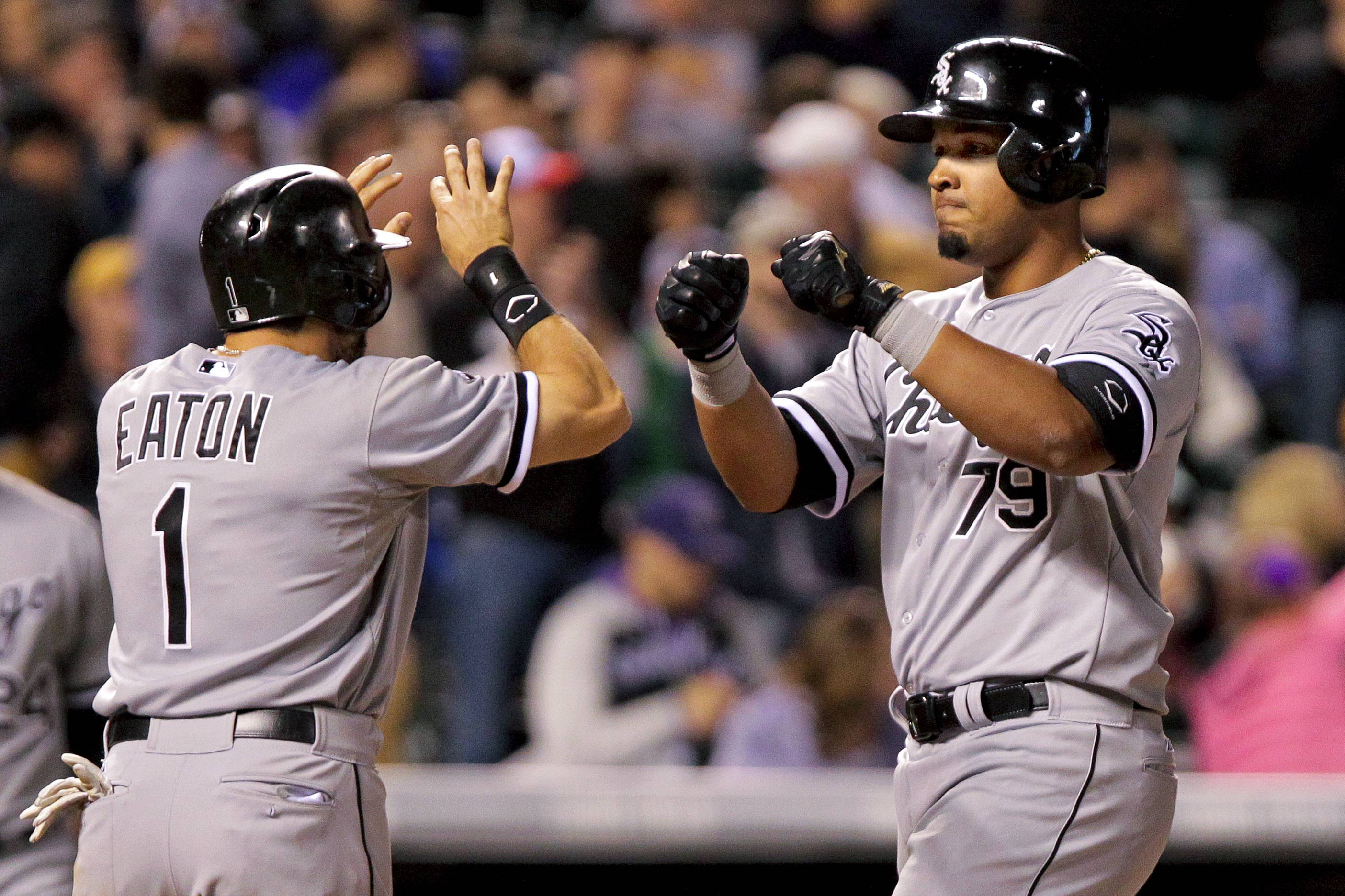 White Sox hit 6 homers in 15-3 win over Rockies