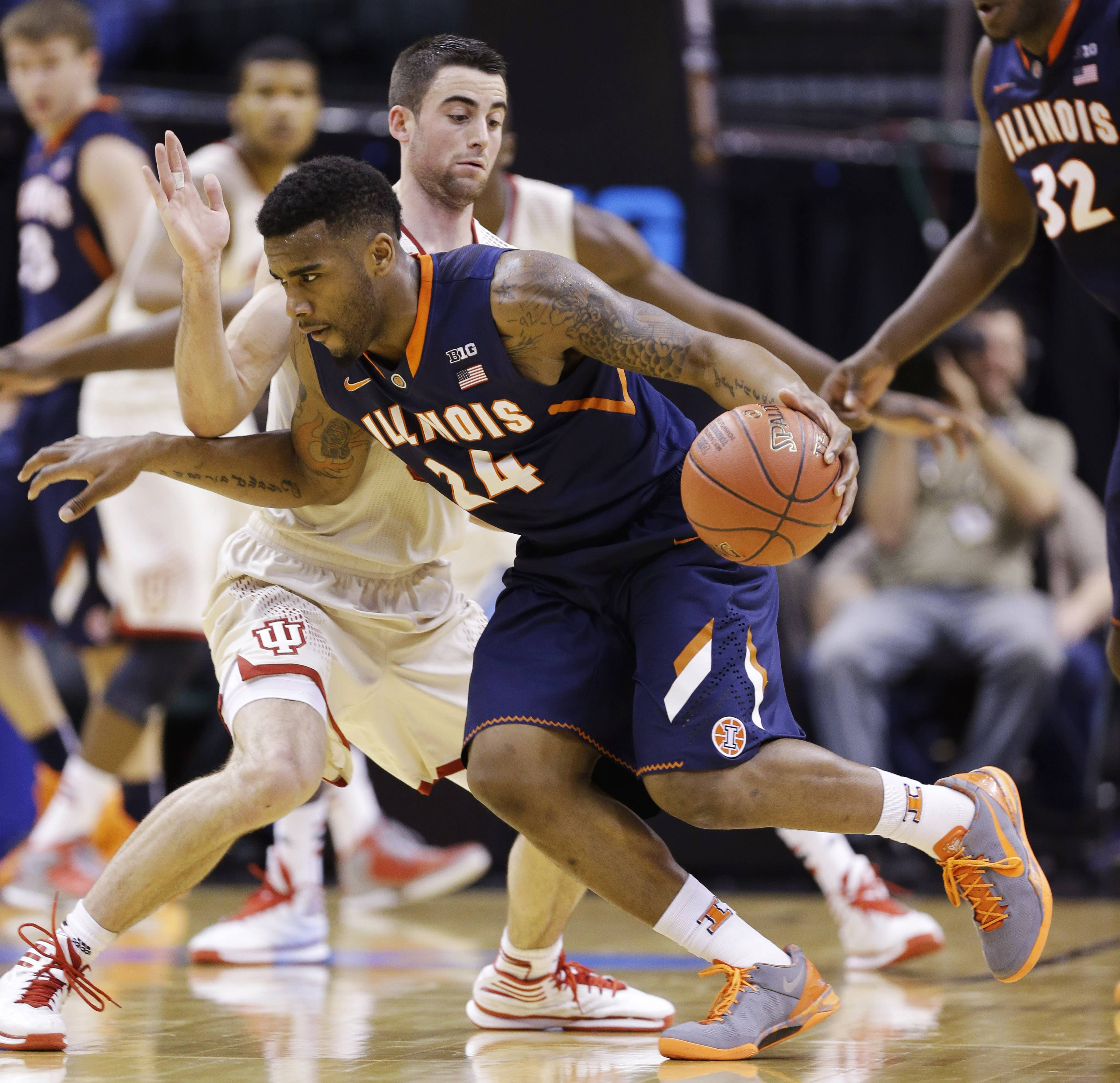 Rayvonte Rice led the Illini with 15.9 points per game this season.