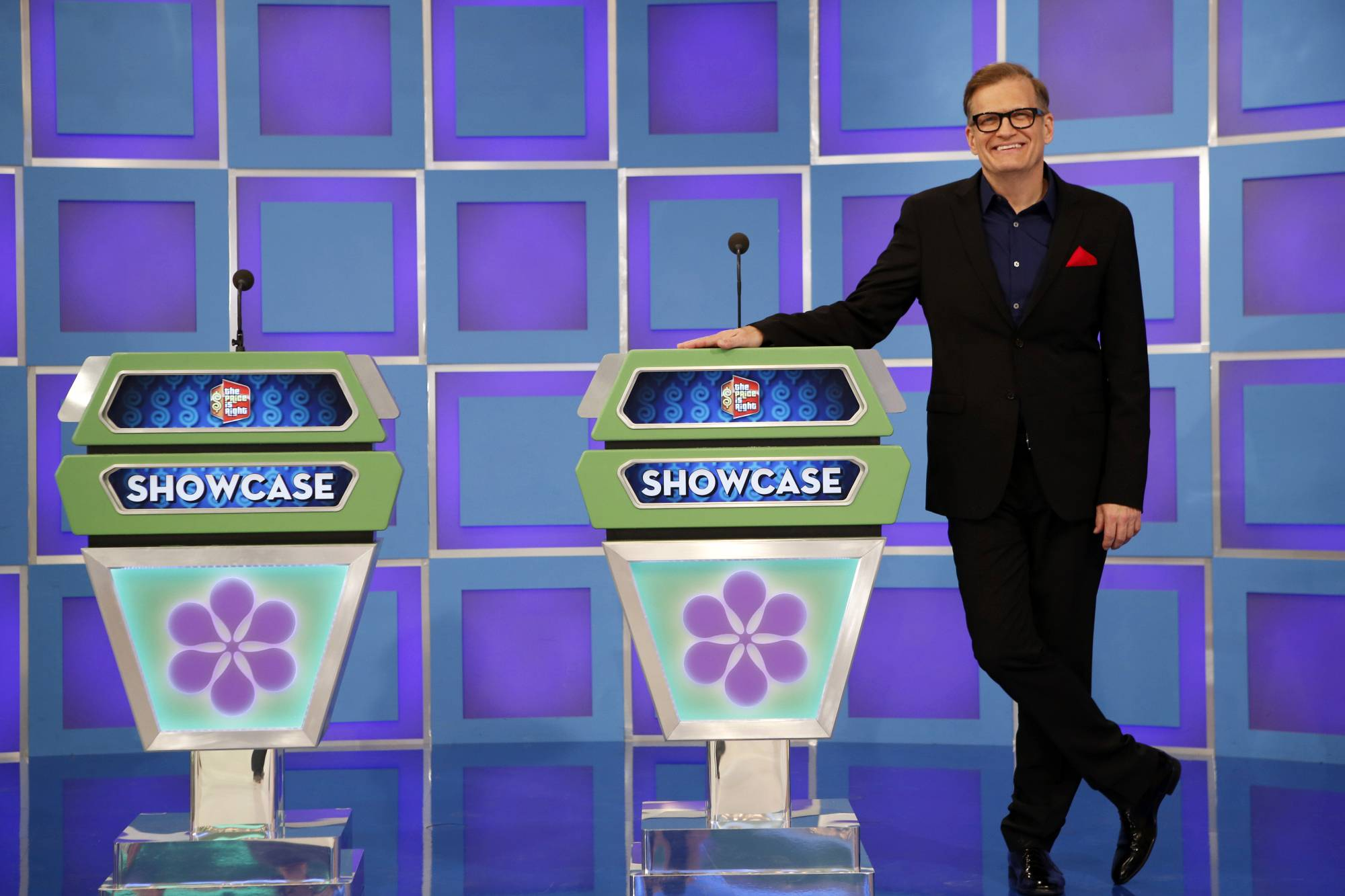 "Host Drew Carey has made ""The Price Is Right"" his own."