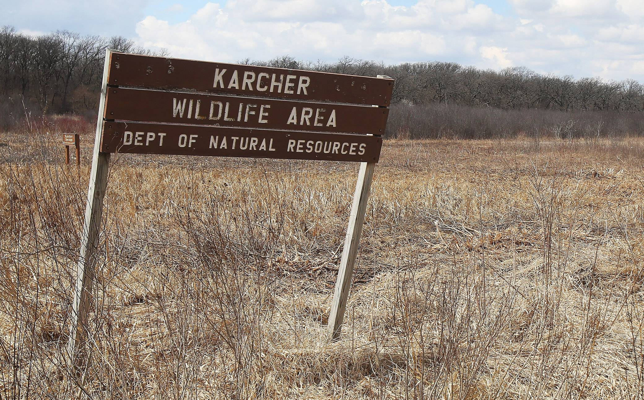 Amber Creek's body was found in the Karcher Wildlife Area in Burlington, Wis. Authorities say a Palatine man beat and suffocated the 14-year-old girl to death then left her in the wooded area.