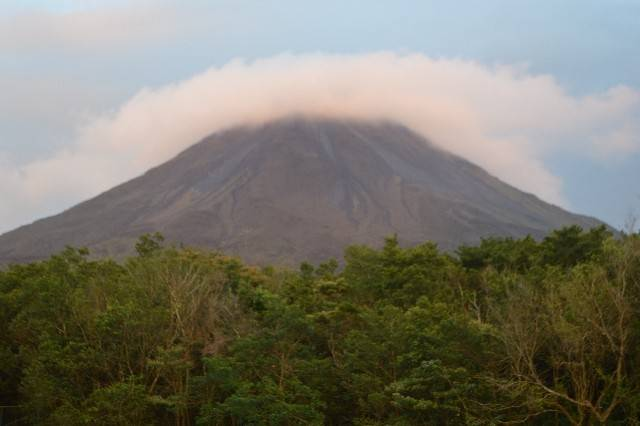 "The Arenal Volcano dominates the view from our family's room in La Fortuna, Costa Rica. But what makes this the ""best family vacation ever"" is the simple act of being able to enjoy everything together."