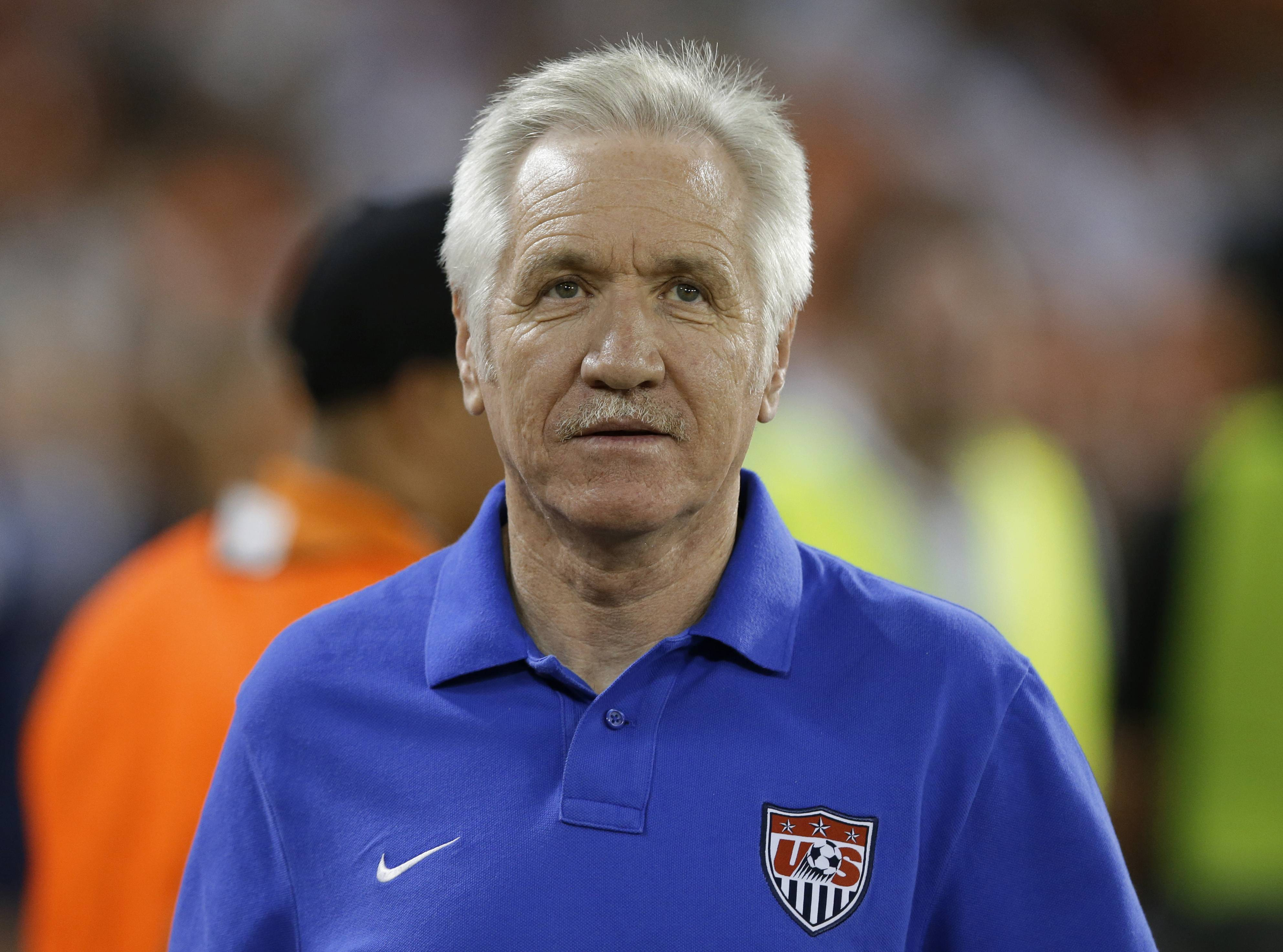 Former U.S. women's national soccer team coach Tom Sermanni