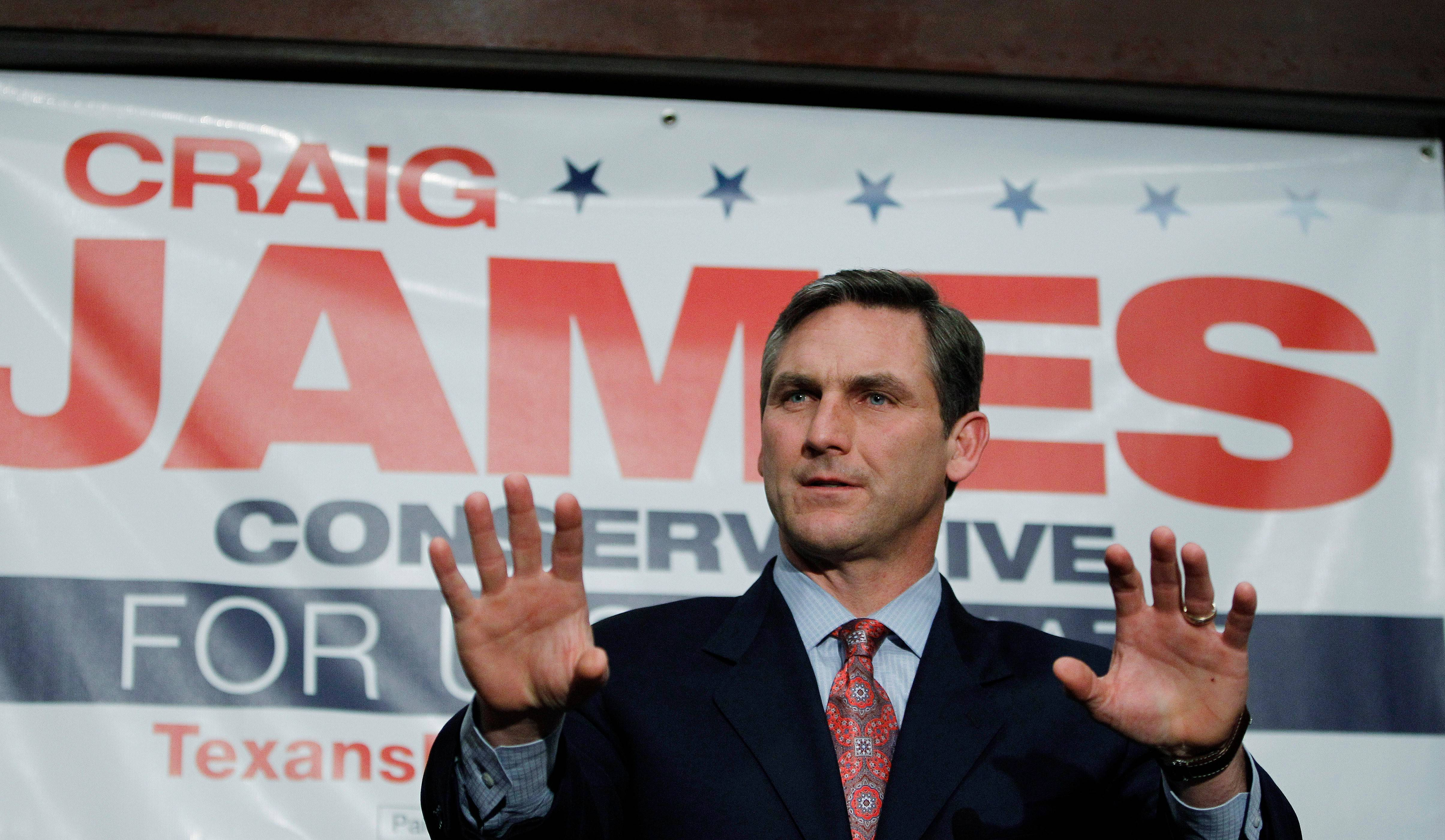 Former sports commentator Craig James unsuccessfully ran for Senate in 2012. Now he has joined the conservative Family Research Council.