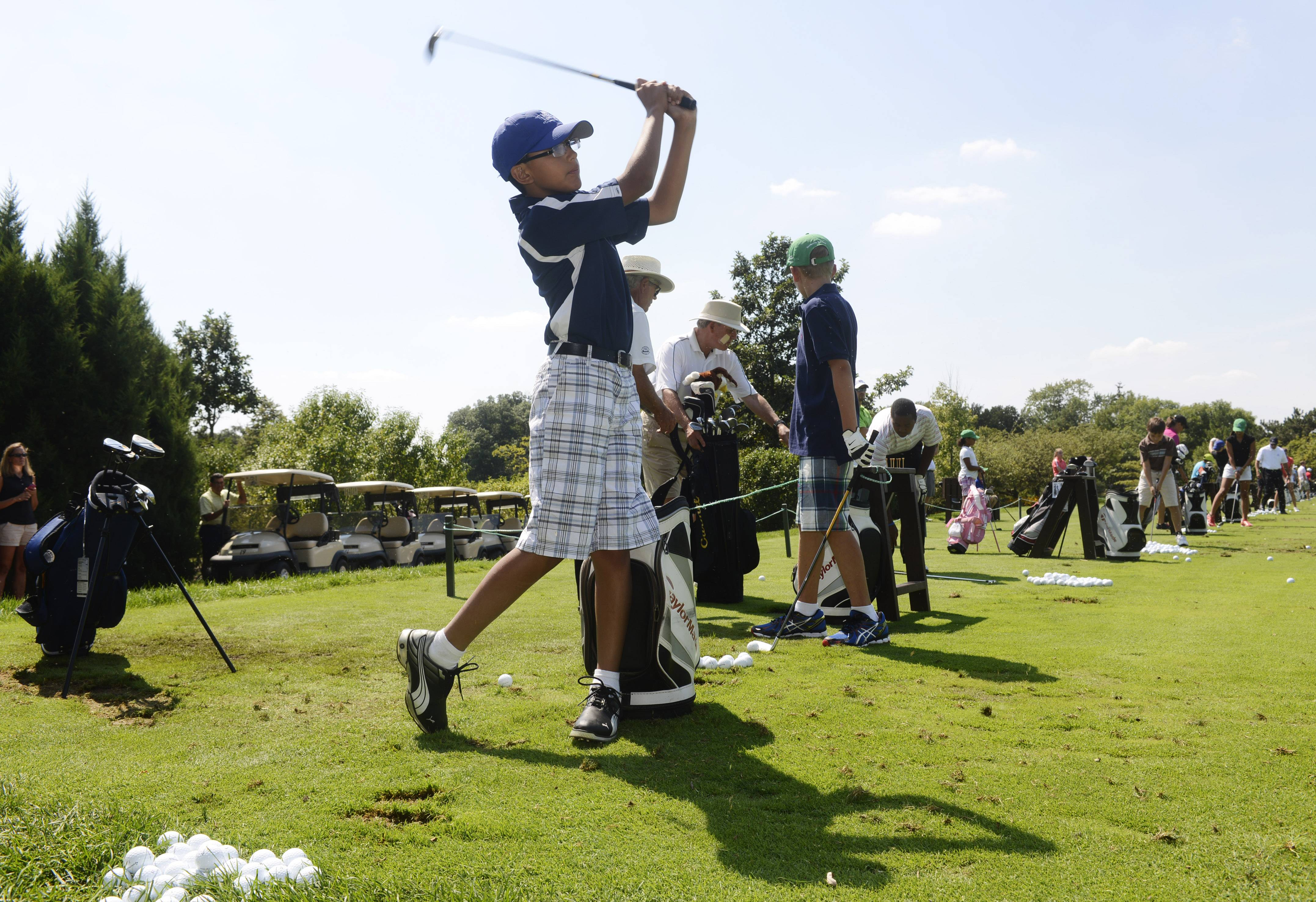 Students who take part in the First Tee Aurora and Fox River Valley program will can golf nine holes or hit a bucket of balls at a discount all summer at six partner courses.