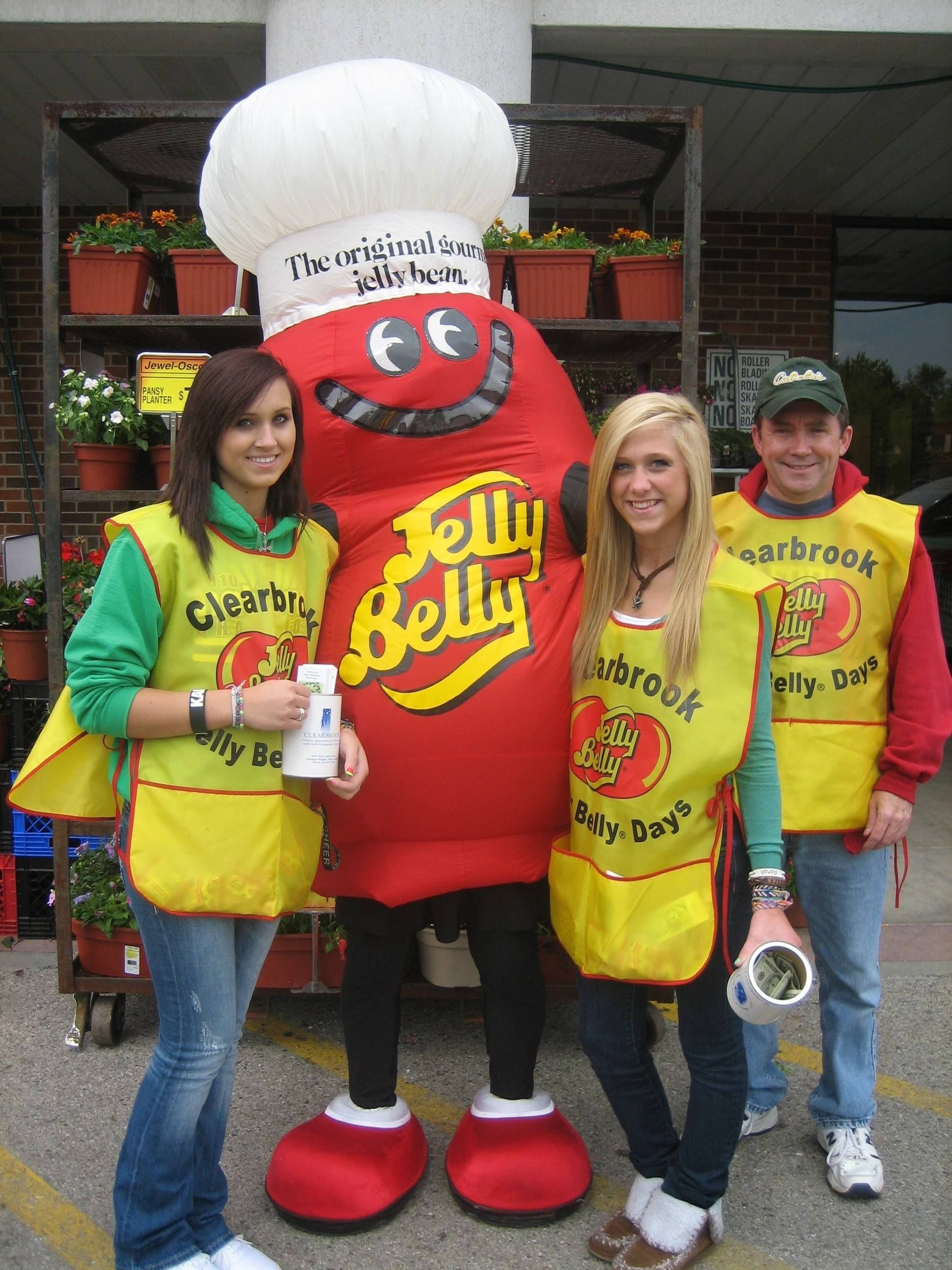 Clearbrook is seeking volunteers to hand out packets of Jelly Belly beans while collecting money at store fronts and intersections to benefit children and adults with intellectual/developmental disabilities.