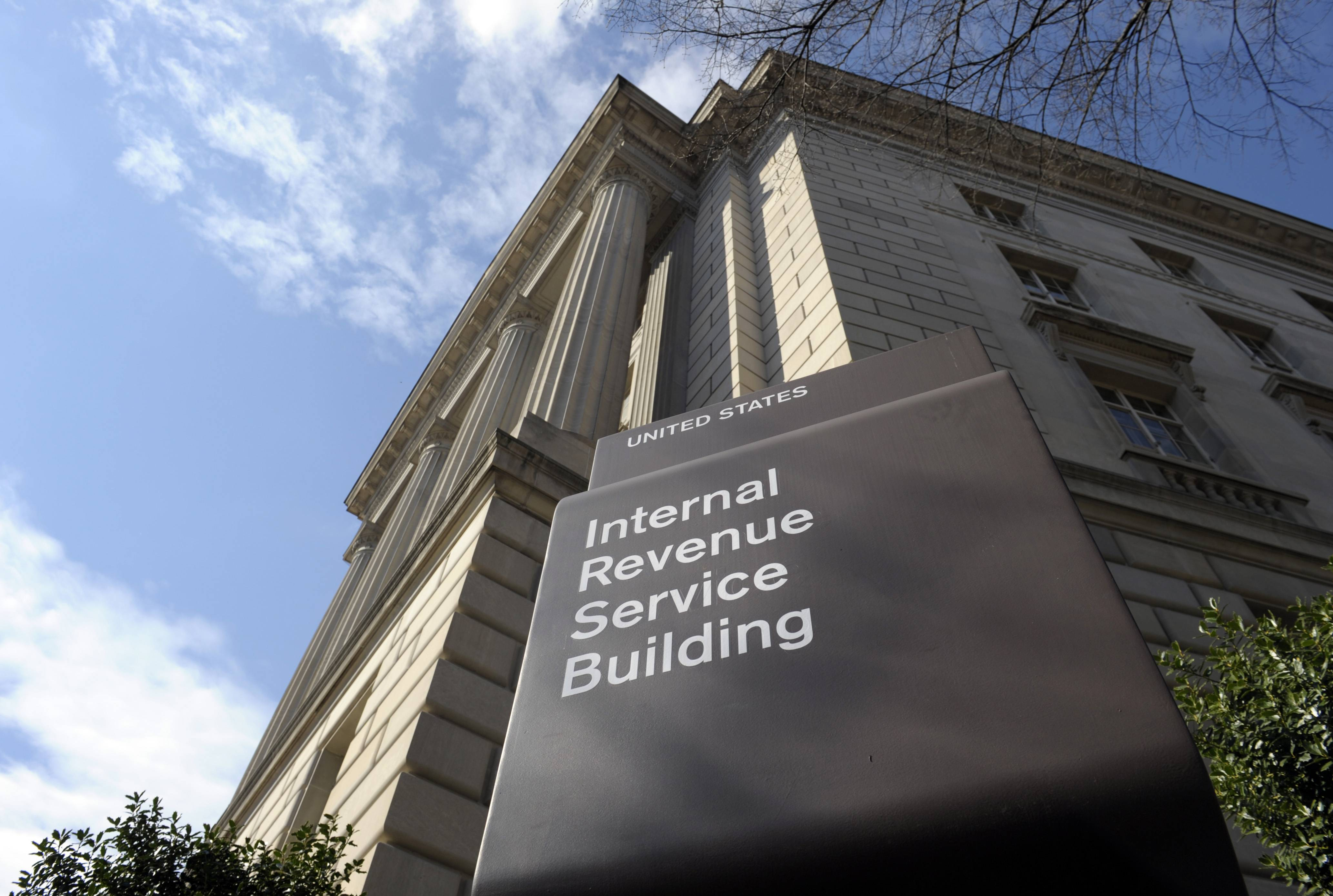 Struggling to figure out your federal tax return? You're not alone, but you're in the minority. With the tax filing deadline looming on April 15, a majority of Americans say completing a federal tax return is easy, according to a new poll. The photo shows the exterior of the Internal Revenue Service building in Washington.