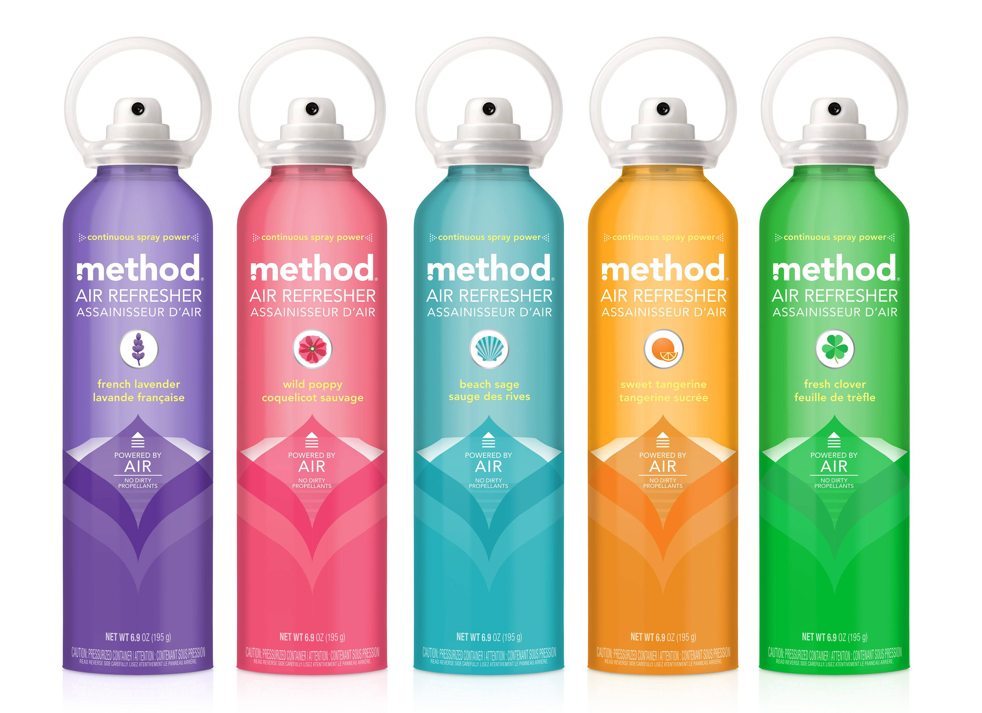 Method's non-aerosol air freshener.