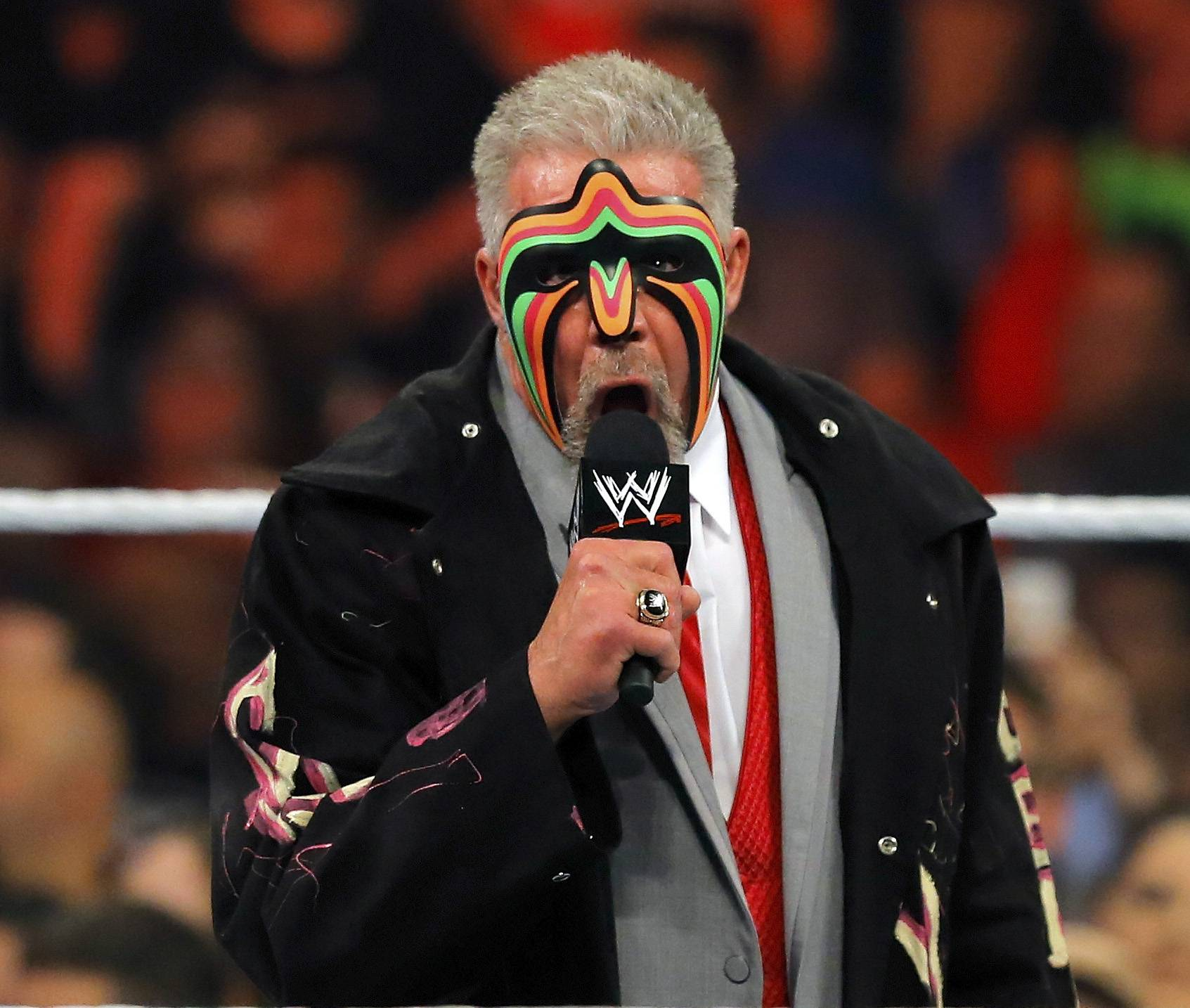 James Hellwig, better known as The Ultimate Warrior, died Tuesday, April 8, 2014. He was 54. Hellwig was one of pro wrestling's biggest stars in the late 1980s.