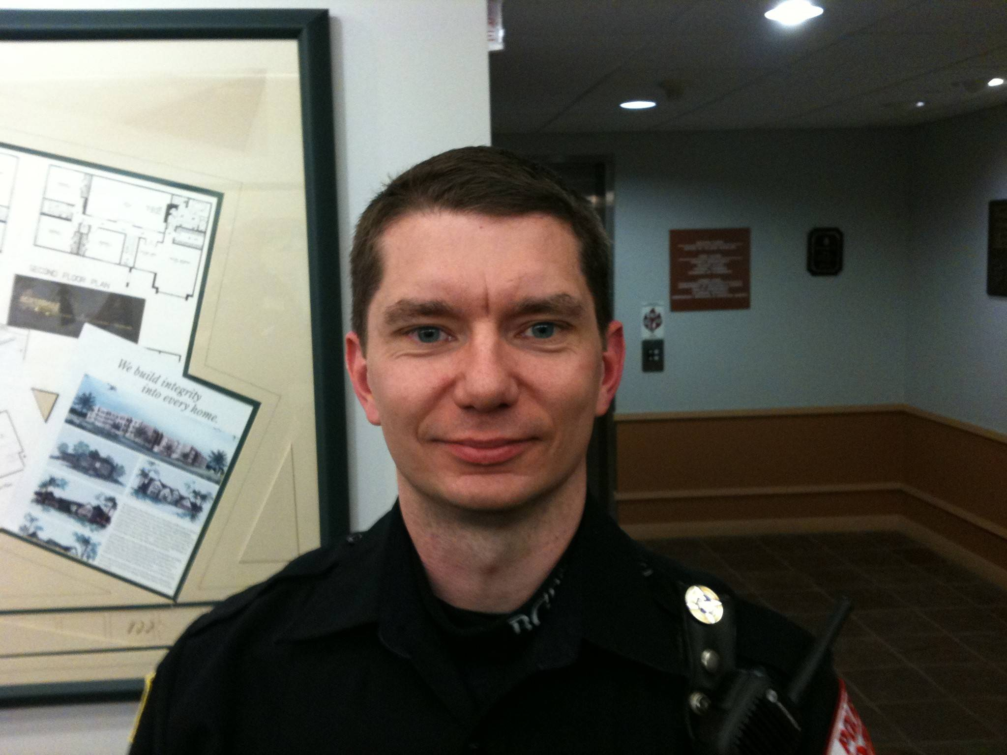 Buffalo Grove Police Officer Matt Mills.
