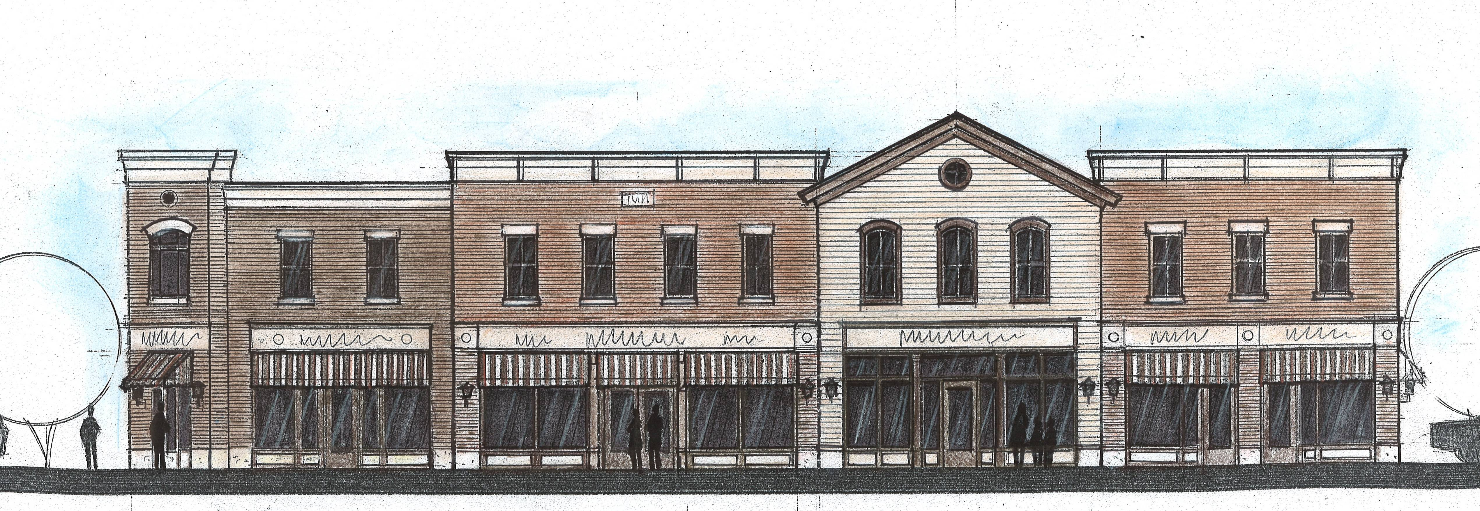This $940,000 multi-tenant commercial building will replace Huntley's historic 19th century downtown mill. The project kicks off the village's long-term effort to revitalize its historic downtown.
