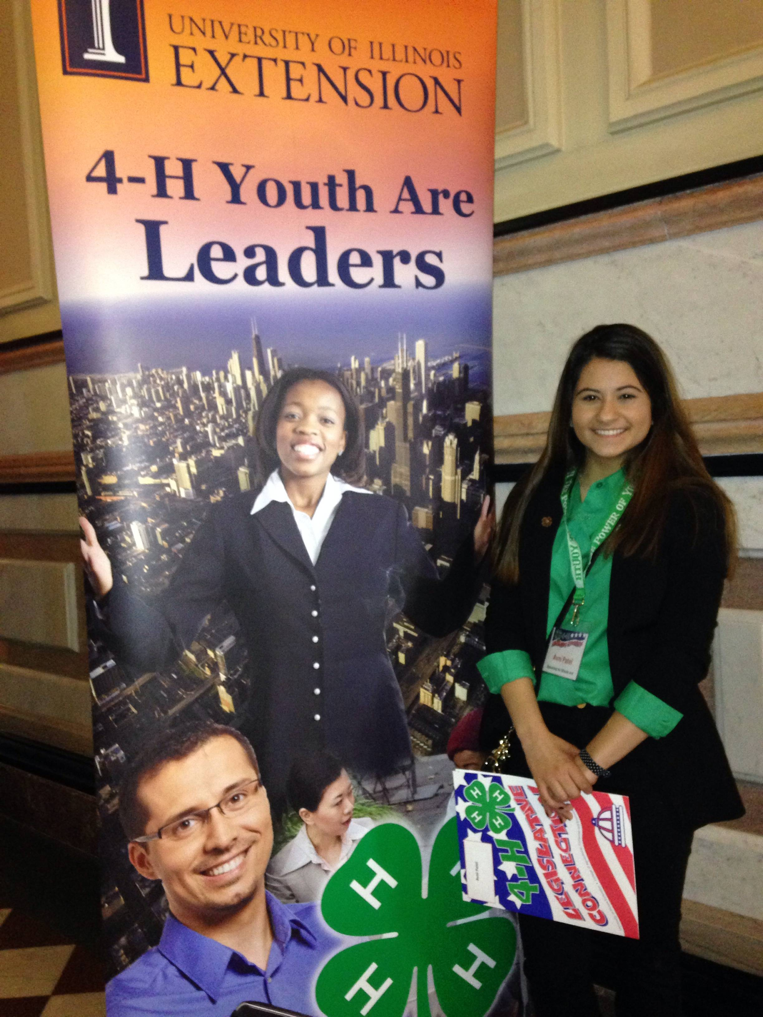 Avni Patel, 4-H member of Busy Beavers in Lake County.Cindy Sarkady