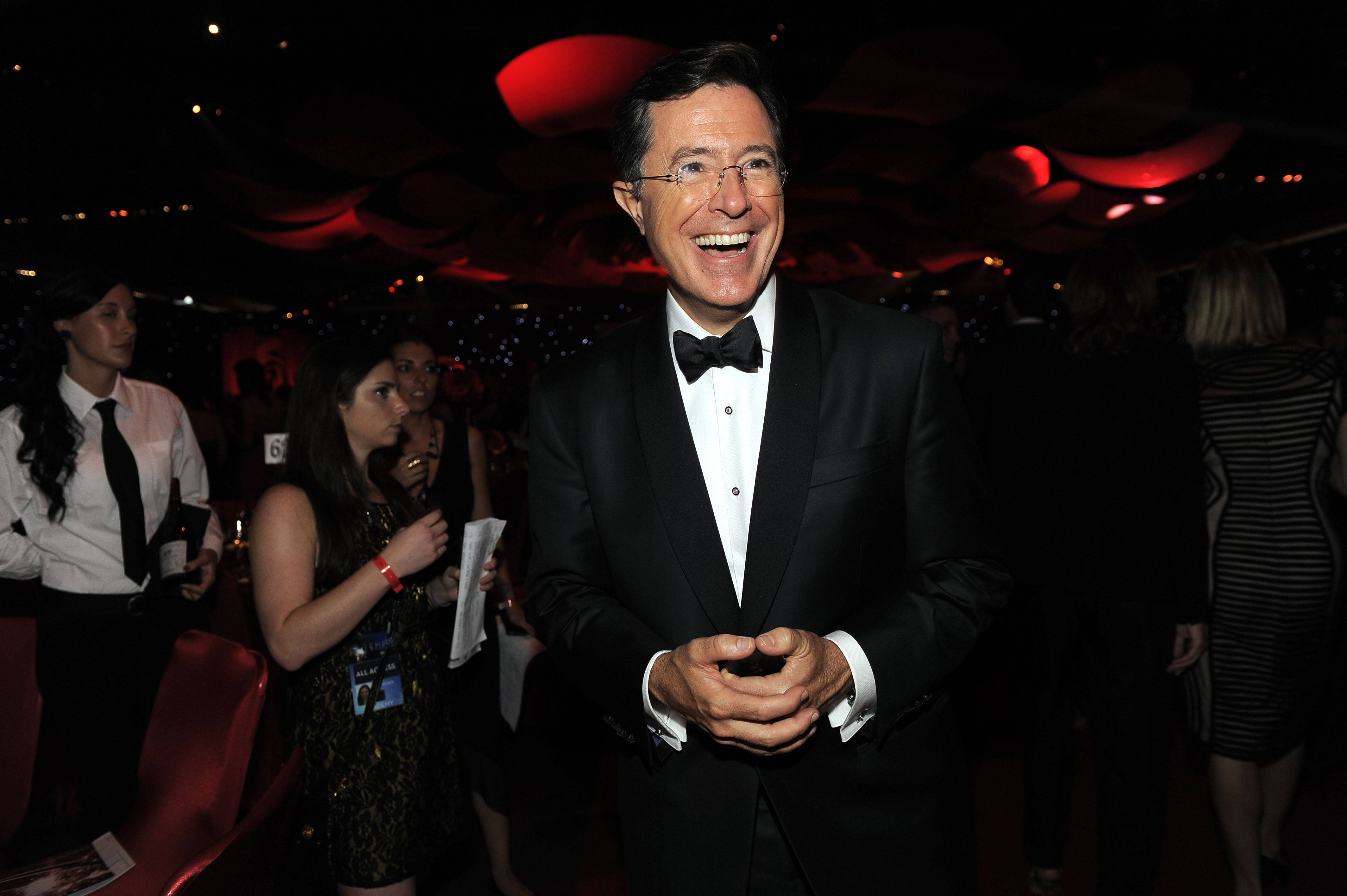 "Stephen Colbert will succeed David Letterman as the host of ""The Late Show."""