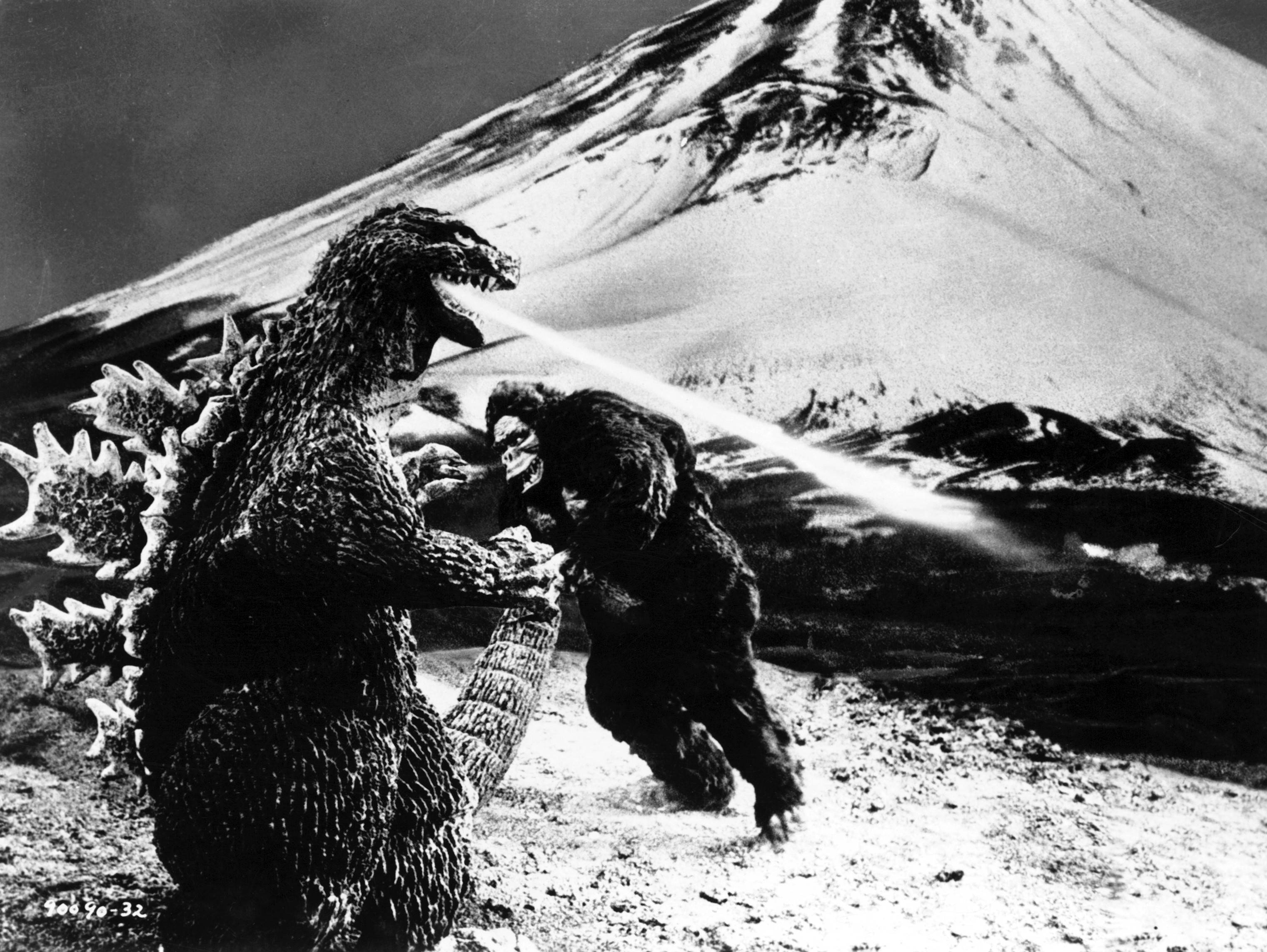 """King Kong Vs. Godzilla"" is one of several genre thrillers presented at the 16-Hour Sci-Fi Marathon at the Patio Theater in Chicago."