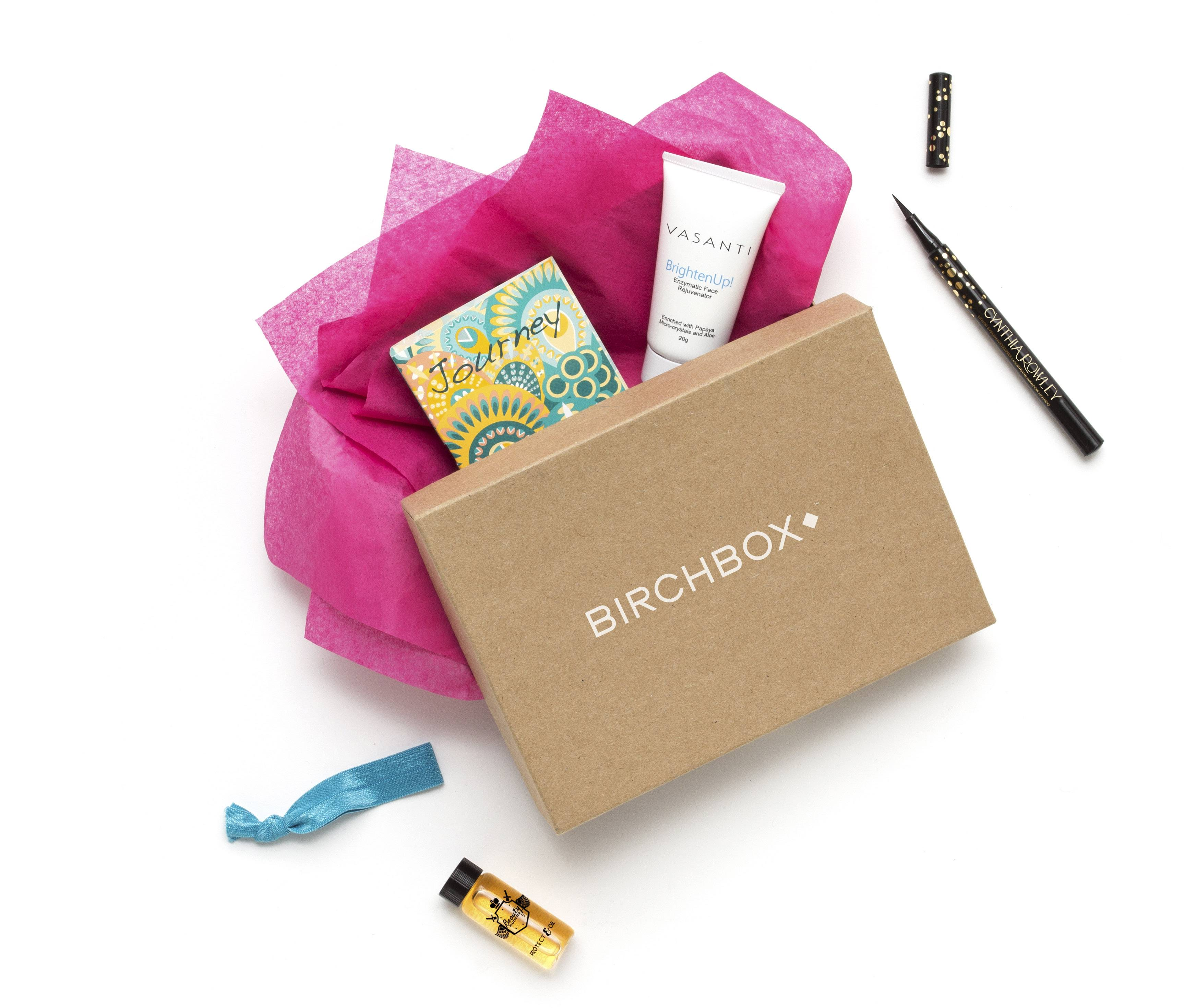 Consumers can subscribe to companies like Birch Box to receive monthly shipments of beauty product samples.