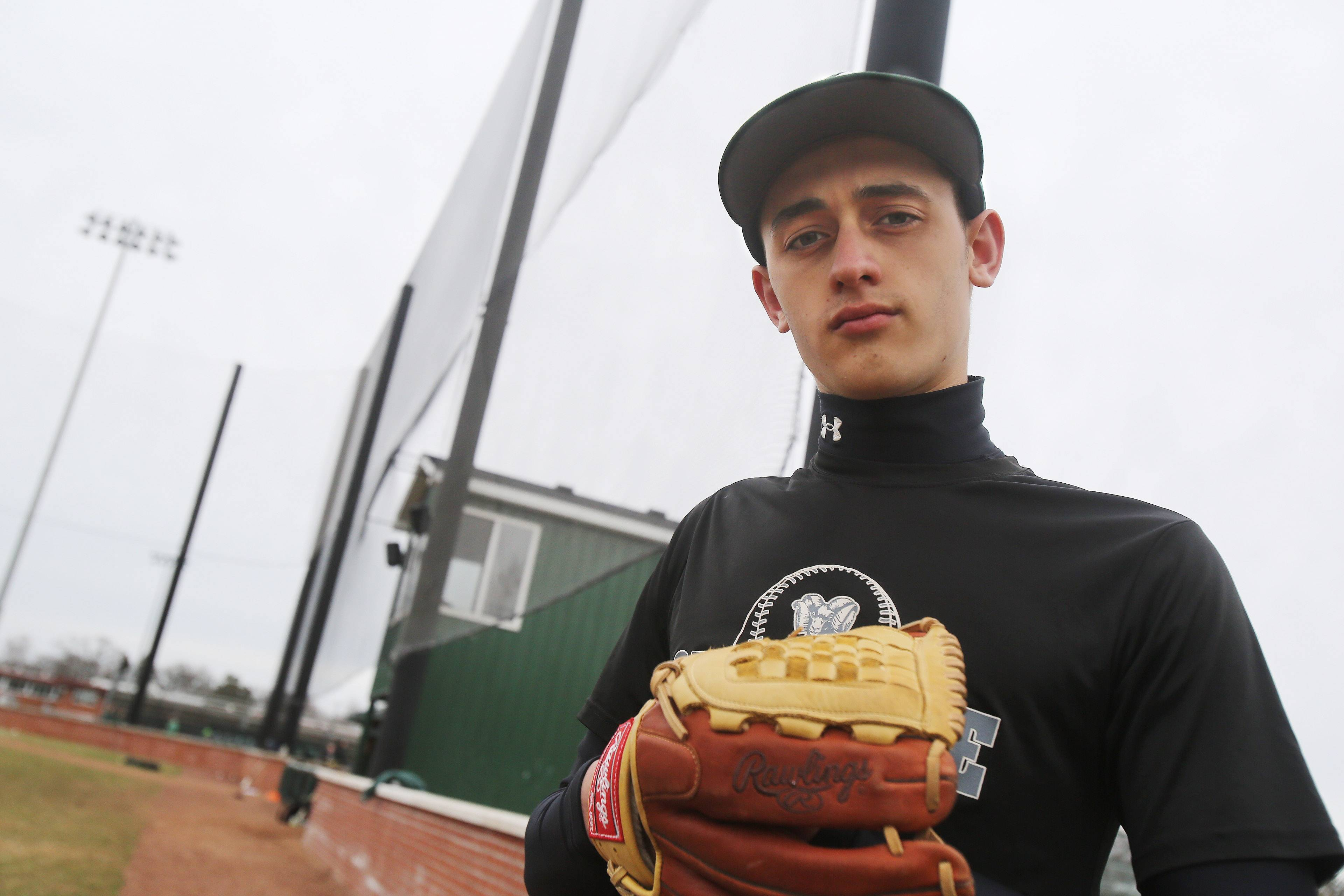 Pitcher Justin Guryn of Grayslake Central is focused on extending his terrific start to the season.