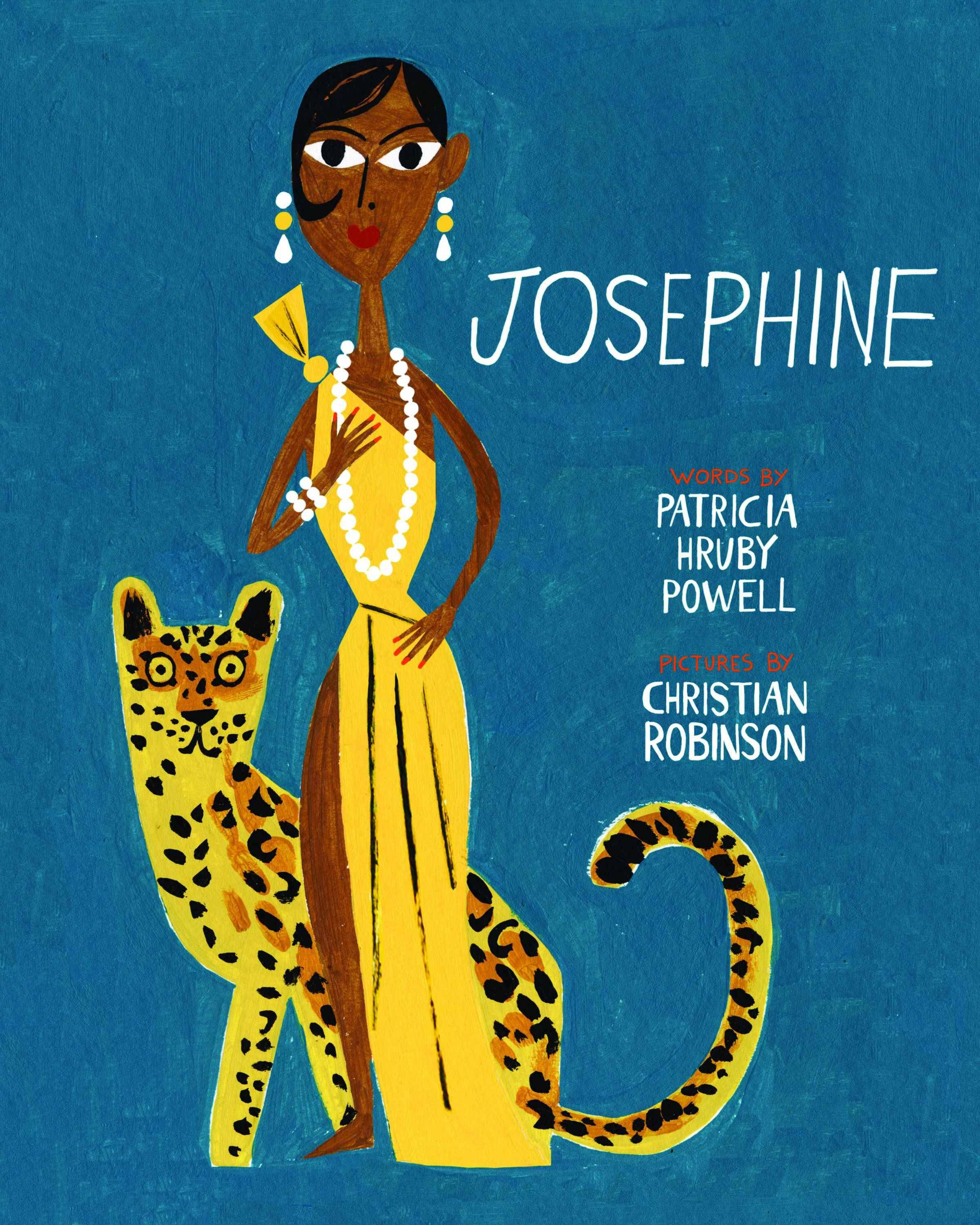 """Josephine: The Dazzling Life of Josephine Baker"" by Patricia Hruby Powell, illustrated by Christian Robinson (Chronicle Books, 2014), $17.99, 104 pages."