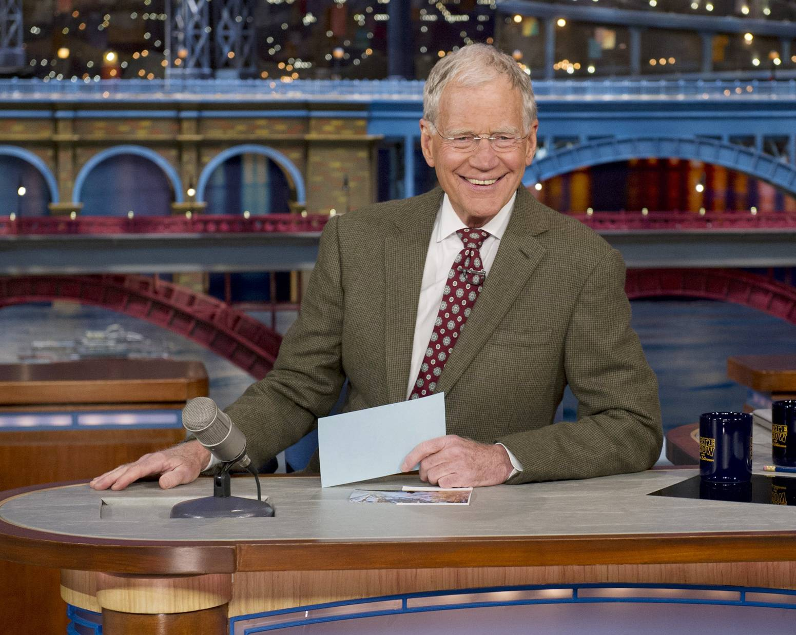 "David Letterman, host of the ""Late Show with David Letterman,"" will retire in 2015 when his contract expires."