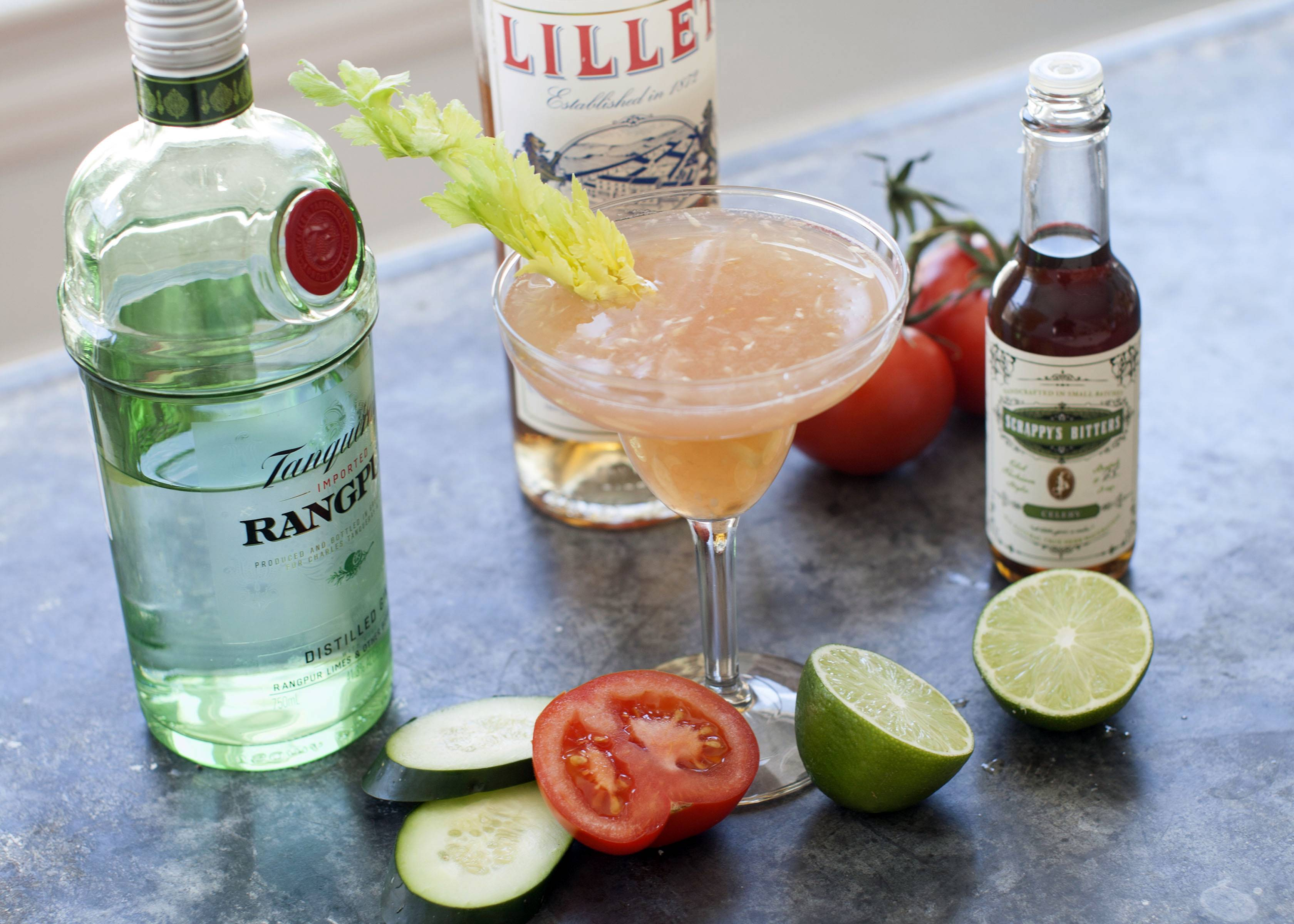 A Breezy Maria is made with celery bitters.